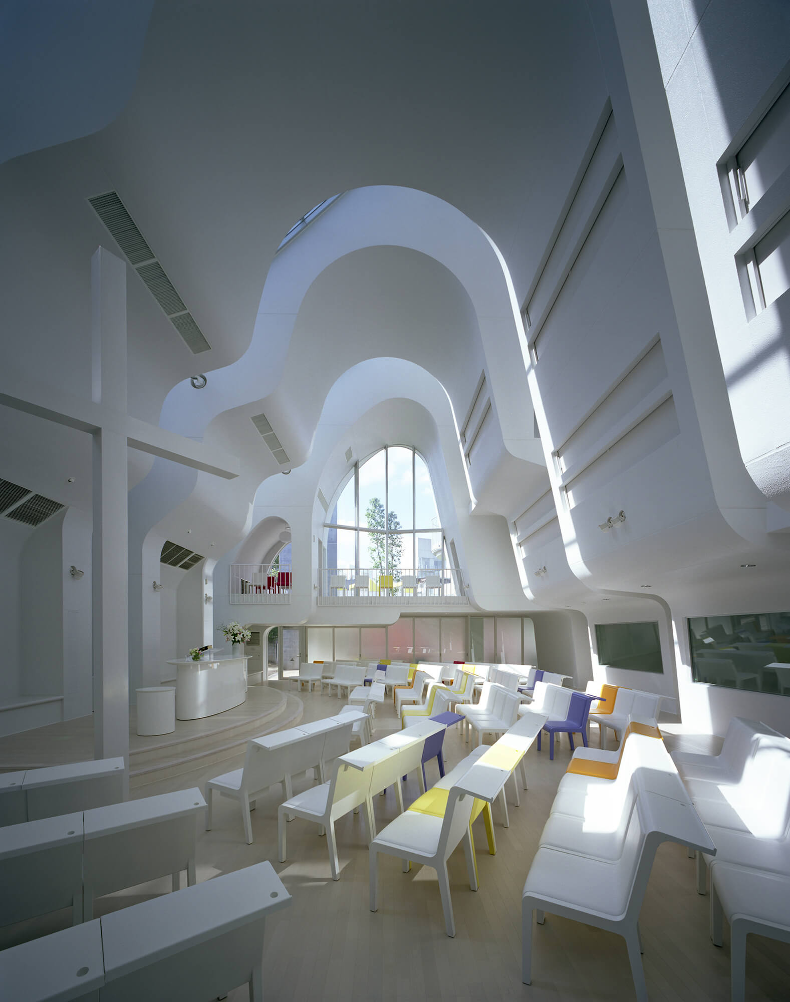 『原宿教会』建築写真・竣工写真・インテリア写真7