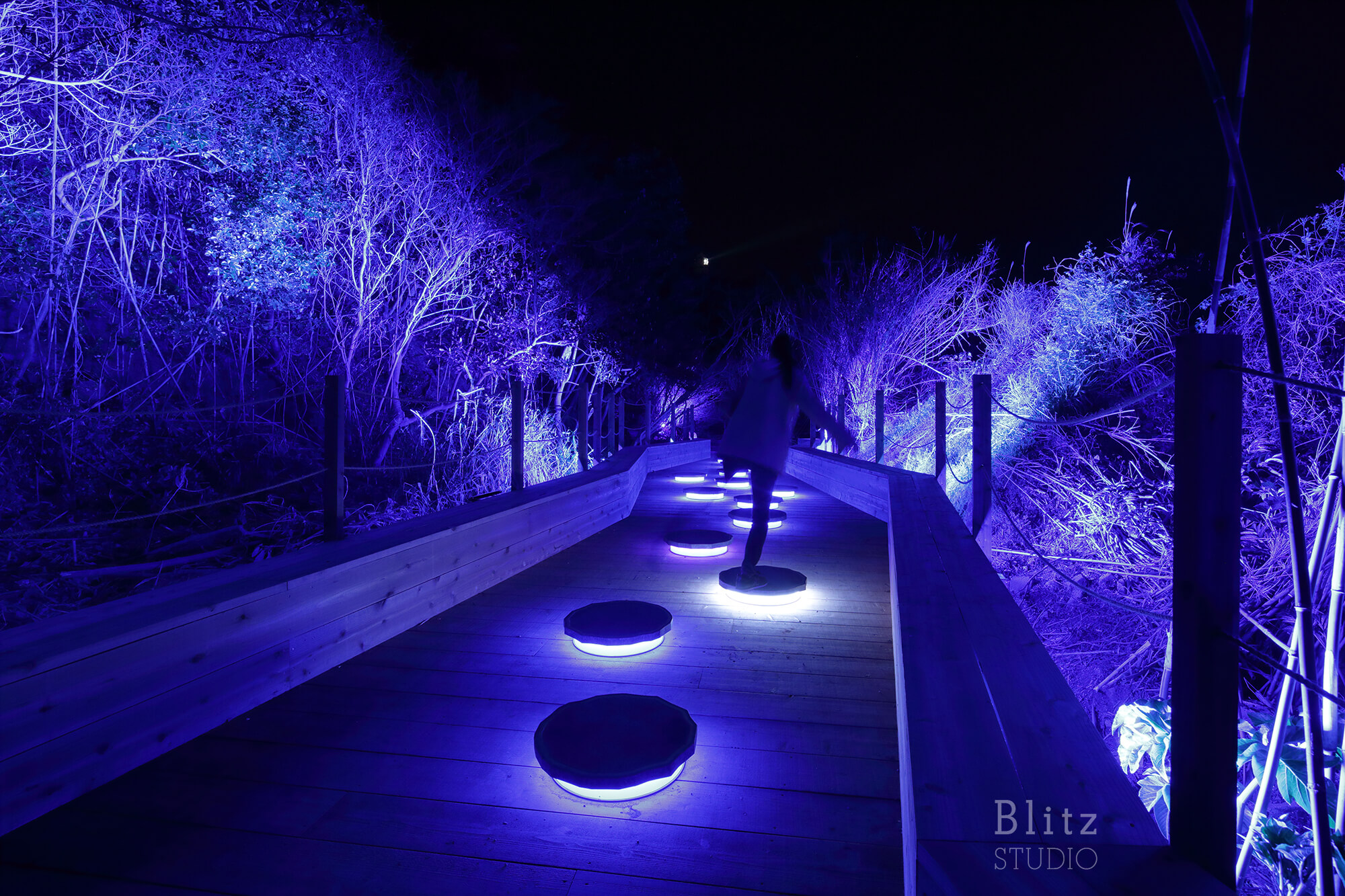 『ISLAND LUMINA 自然を舞台にしたマルチメディア・ナイトウォーク』-i+Land nagasaki 長崎県・伊王島-建築写真・竣工写真・インテリア写真4