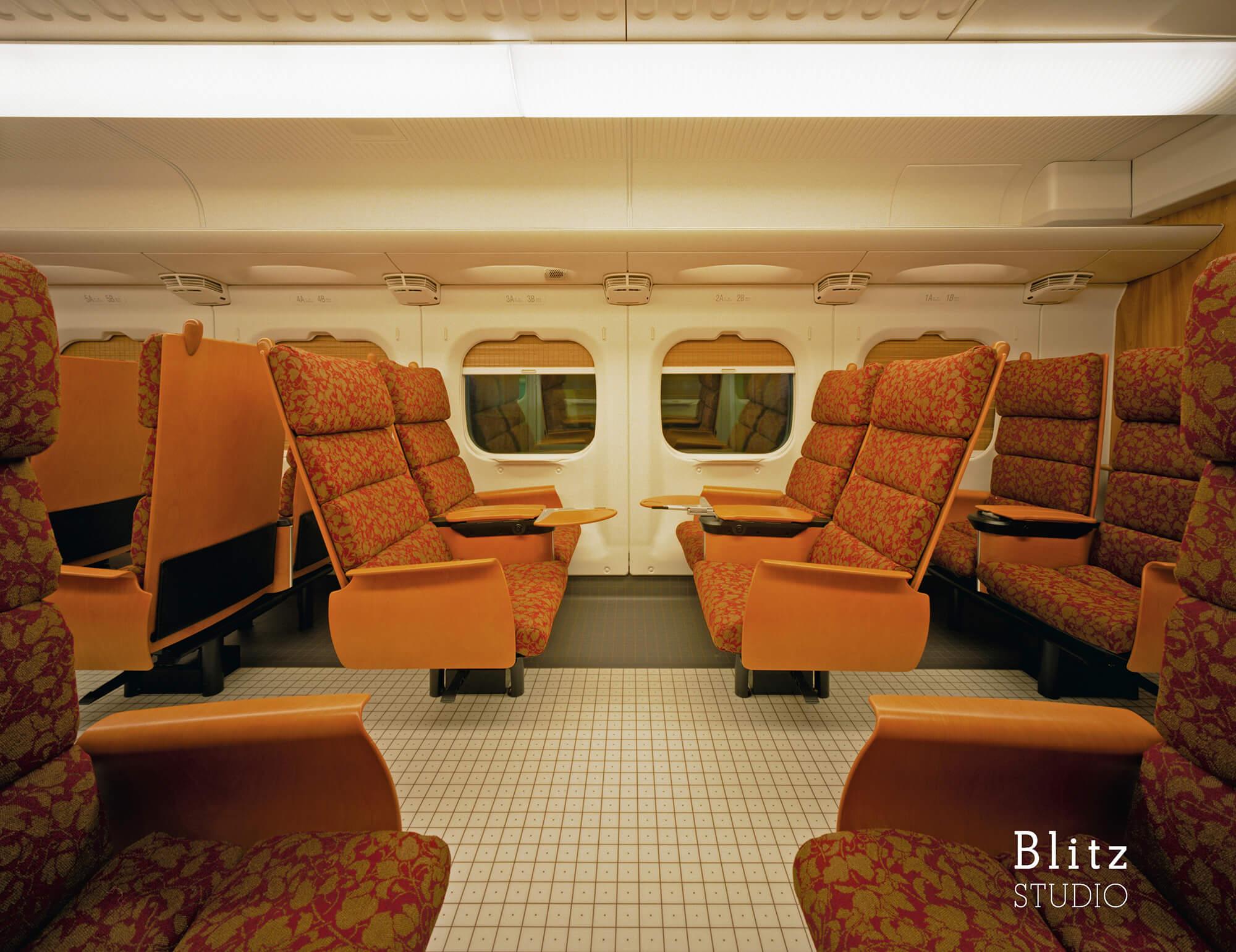 『九州新幹線 つばめ 800 KYUSHU SHINKANSEN TSUBAME 800』建築写真・竣工写真・インテリア写真6