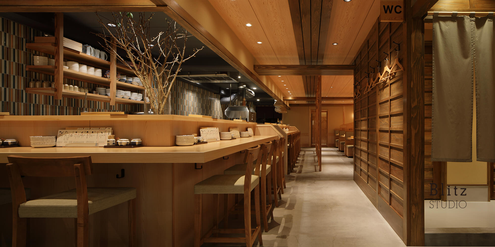 『天麩羅 すえ廣』-広島県-建築写真・竣工写真・インテリア写真4