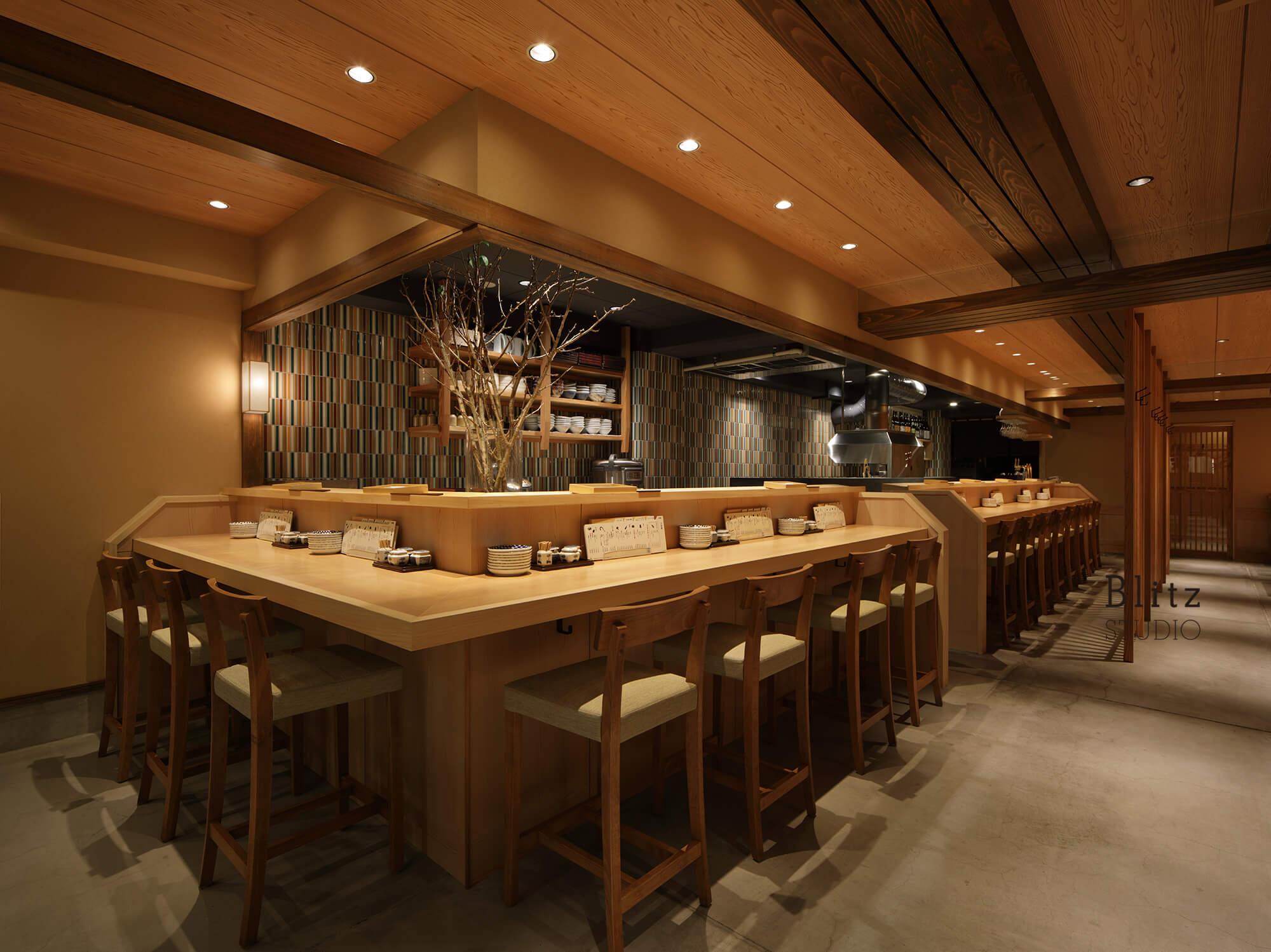 『天麩羅 すえ廣』-広島県-建築写真・竣工写真・インテリア写真3