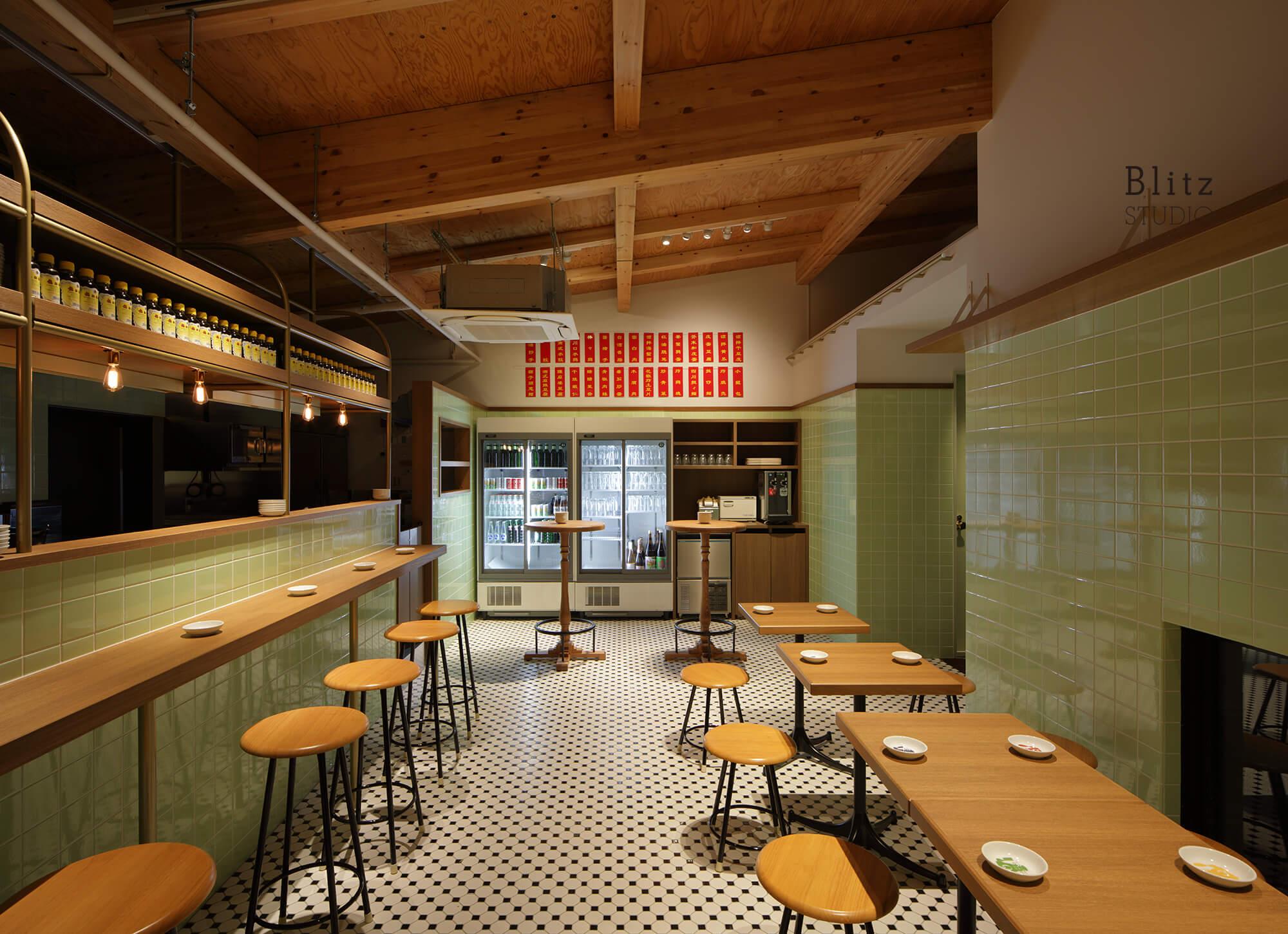 『豆皿中華Q』-福岡県福岡市-建築写真・竣工写真・インテリア写真3