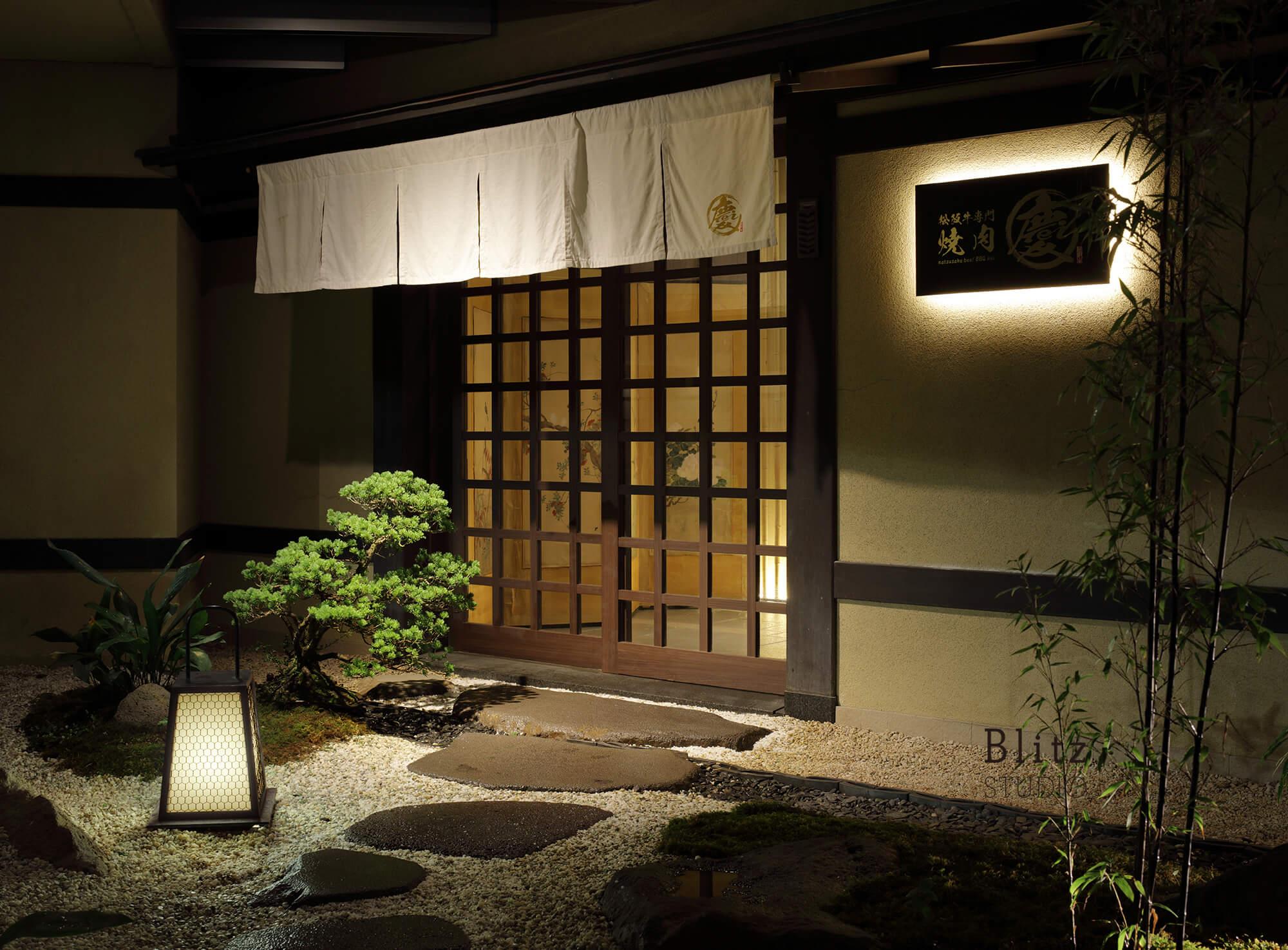 『松坂牛専門焼肉 慶』-ヒルトン福岡シーホーク6F-建築写真・竣工写真・インテリア写真2