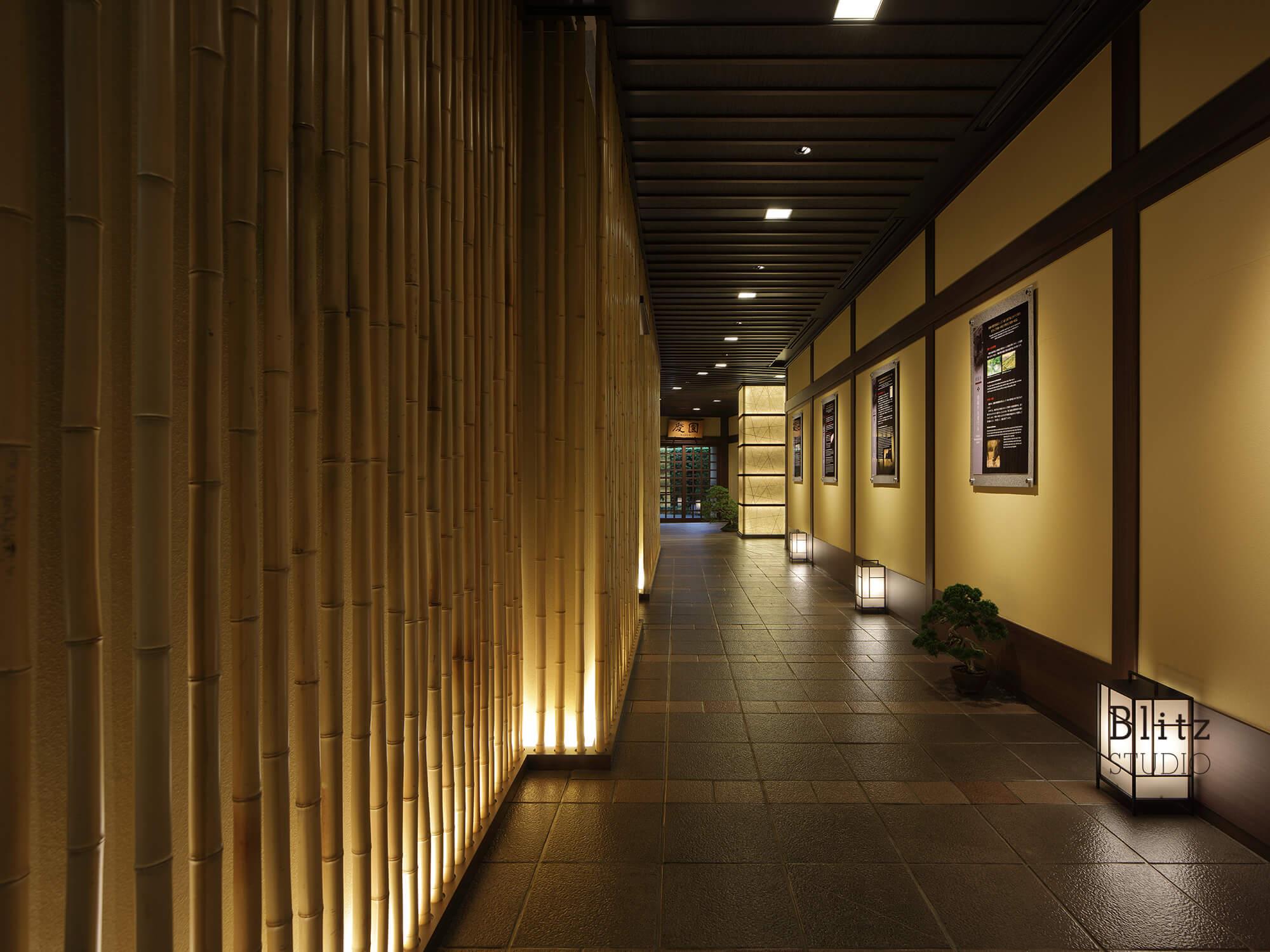 『松坂牛専門焼肉 慶』-ヒルトン福岡シーホーク6F-建築写真・竣工写真・インテリア写真3