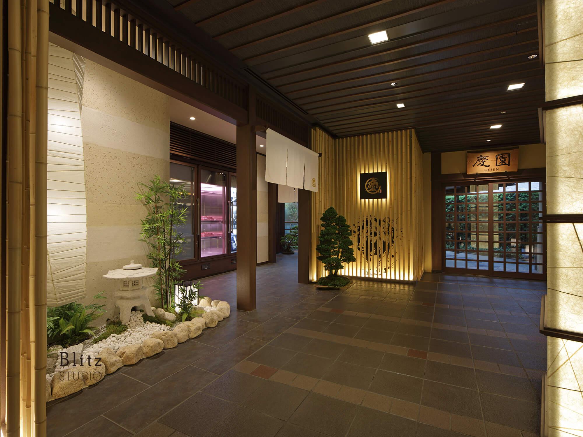 『松坂牛専門焼肉 慶』-ヒルトン福岡シーホーク6F-建築写真・竣工写真・インテリア写真4