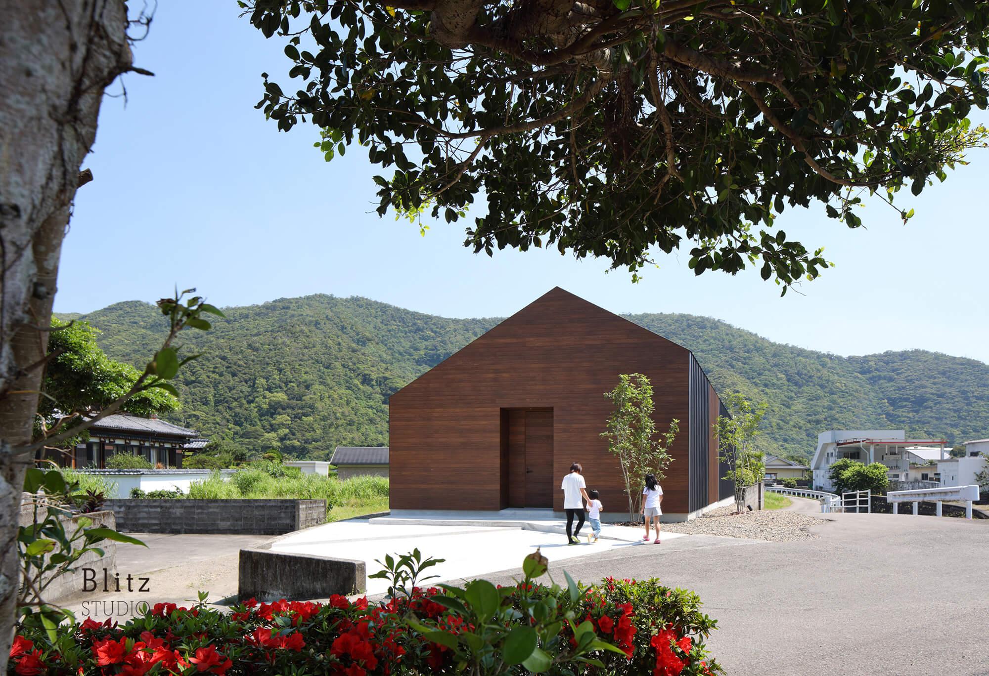 『阿木名の家』-鹿児島県大島郡-建築写真・竣工写真・インテリア写真1