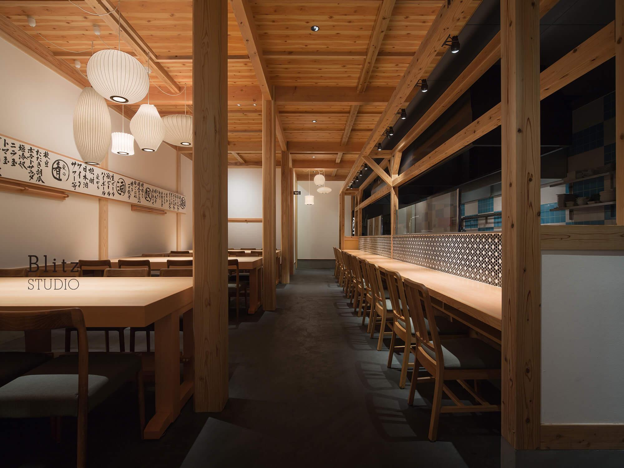 『麺屋台 我馬』-広島県広島市-建築写真・竣工写真・インテリア写真4