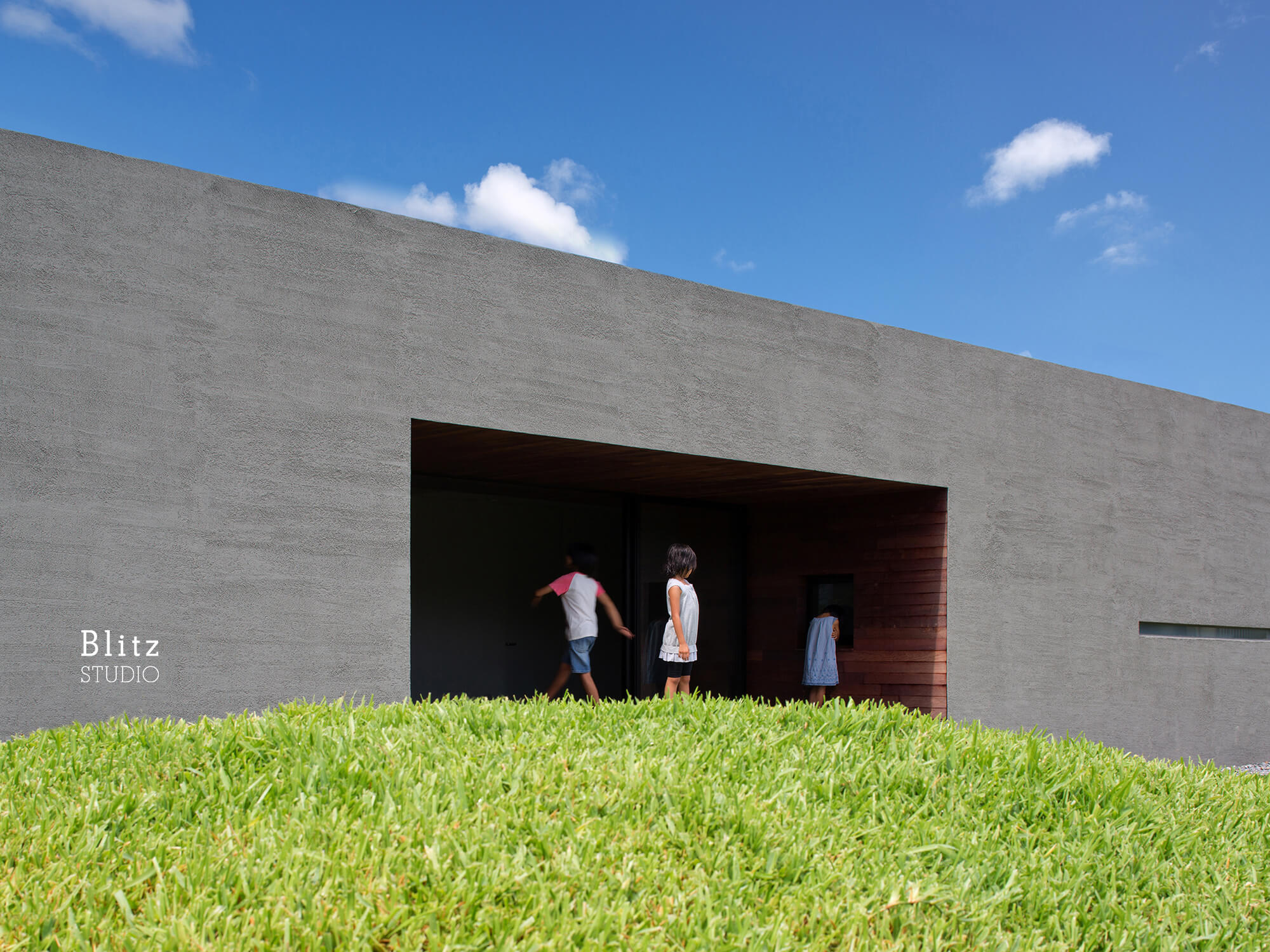 『南城の平屋』-沖縄県南城市-建築写真・竣工写真・インテリア写真1