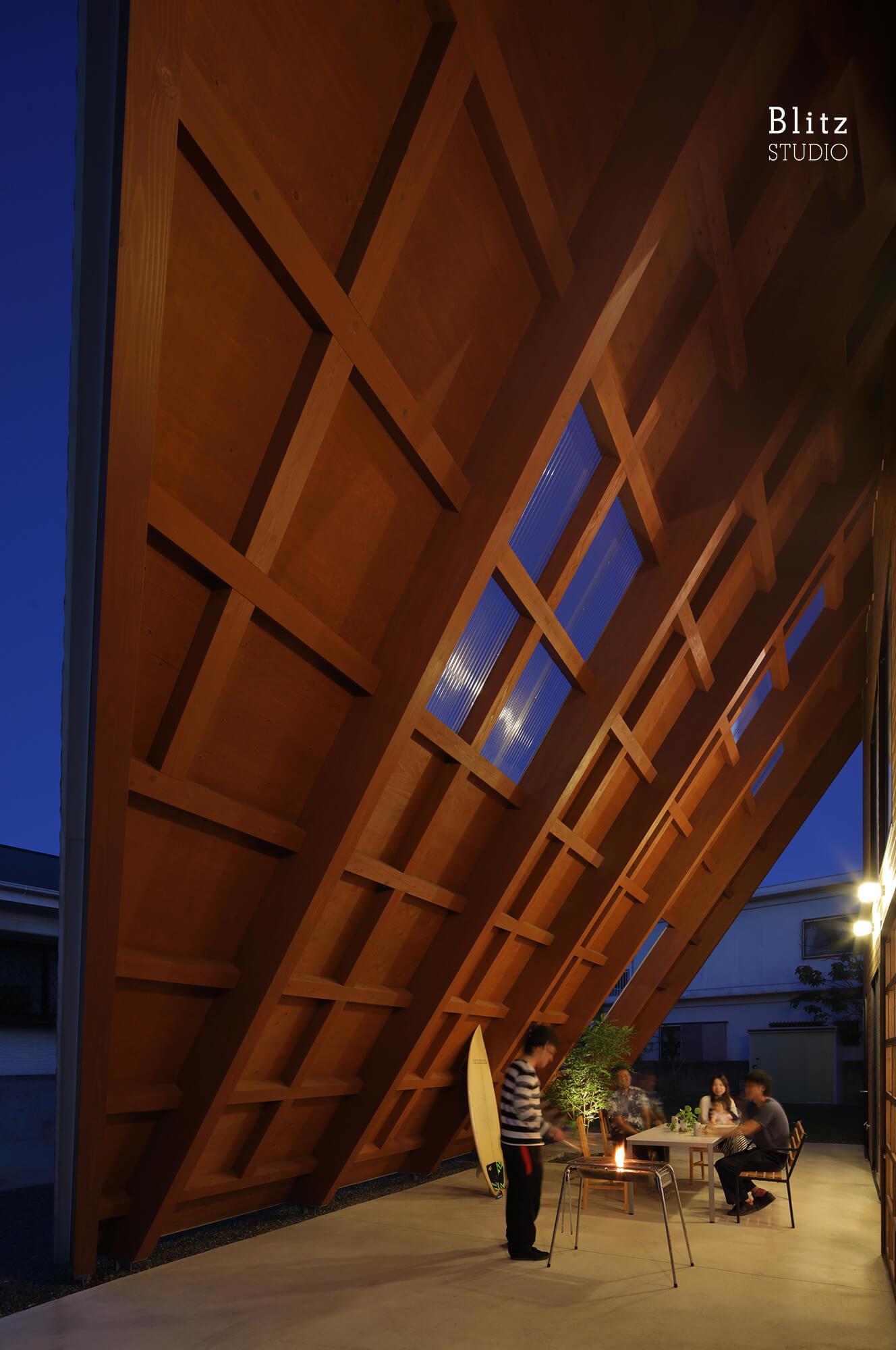 『大屋根の家』建築写真・竣工写真・インテリア写真13