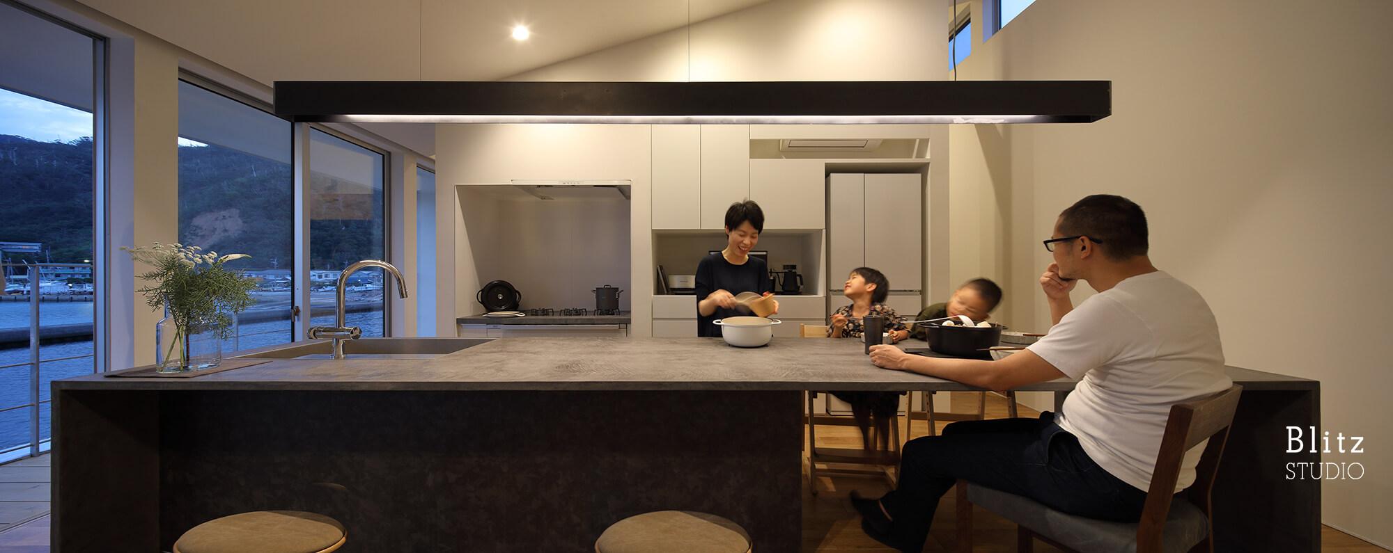 『名瀬鳩浜の家』建築写真・竣工写真・インテリア写真16