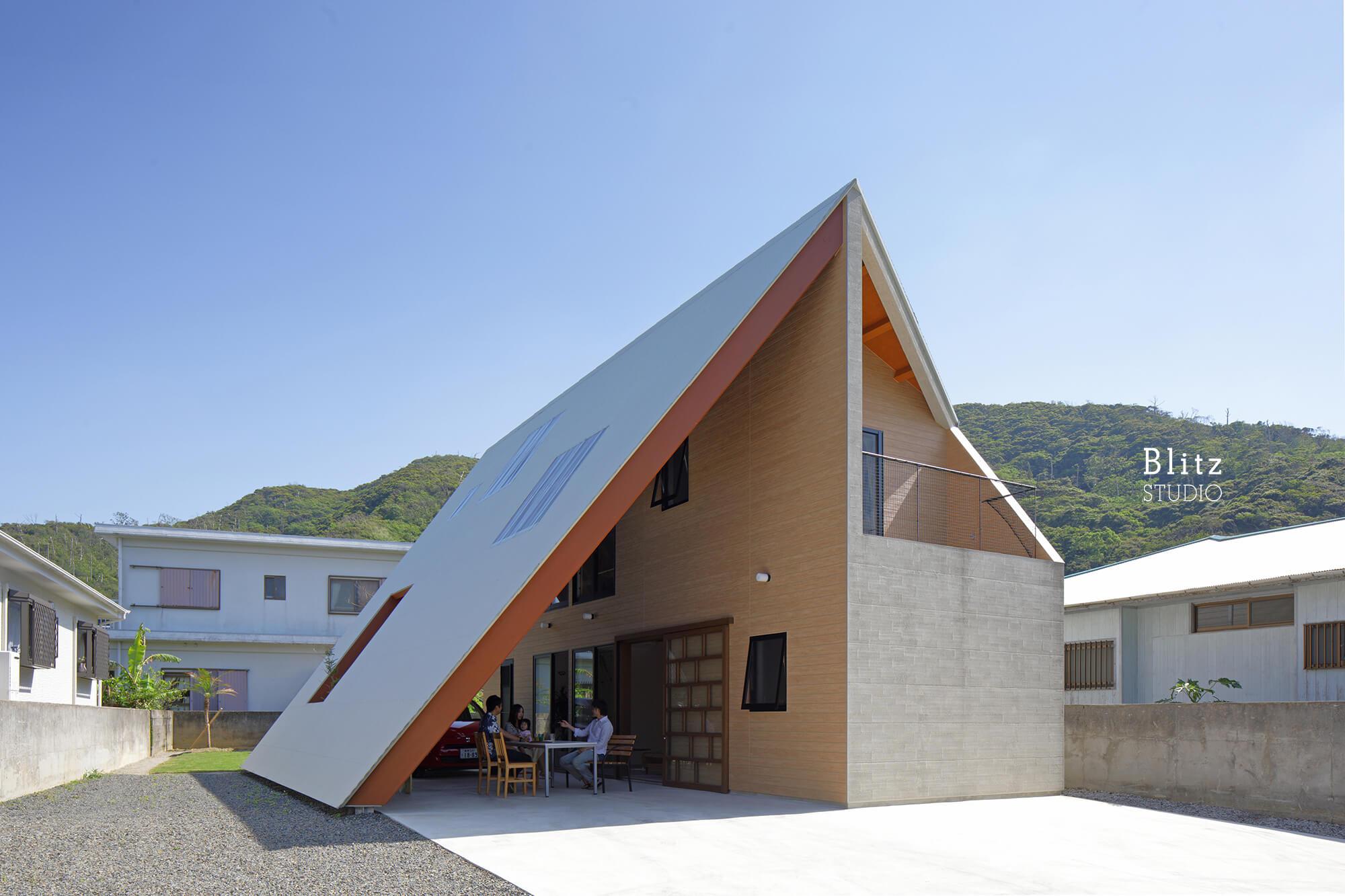 『大屋根の家』-鹿児島県奄美大島-建築写真・竣工写真・インテリア写真2