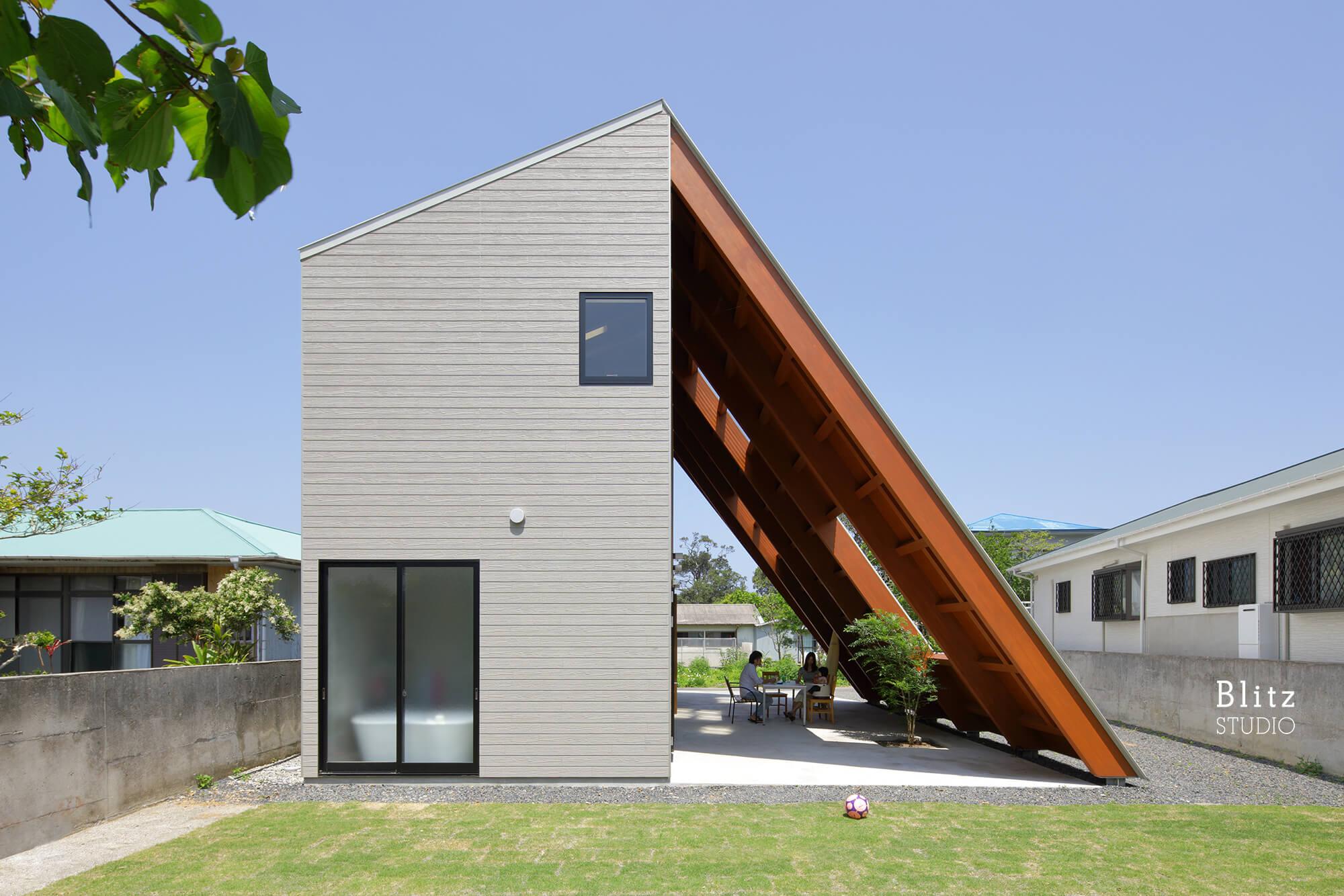 『大屋根の家』-鹿児島県奄美大島-建築写真・竣工写真・インテリア写真3