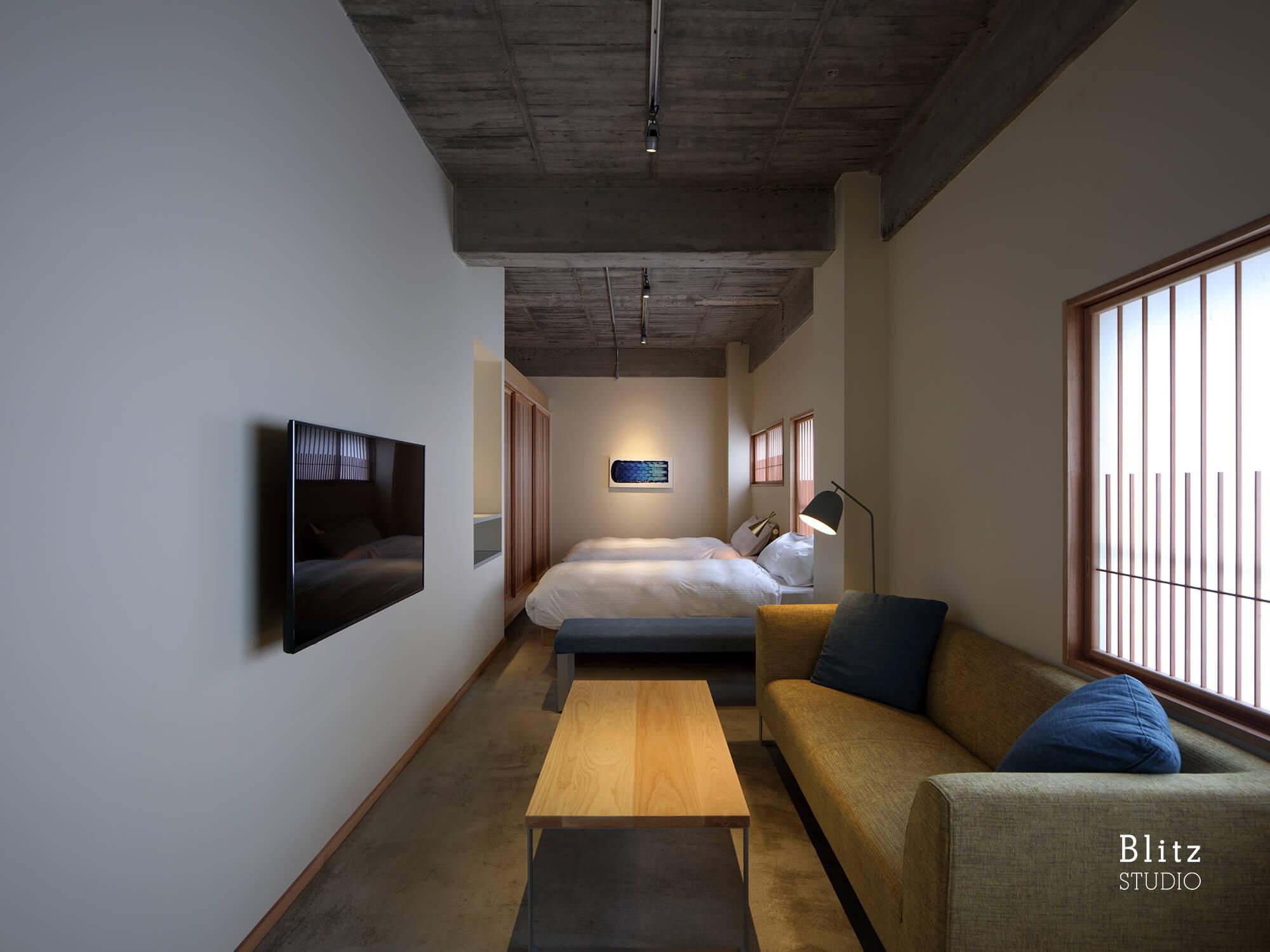 『宿屋ひととき』-福岡県福岡市-建築写真・竣工写真・インテリア写真3