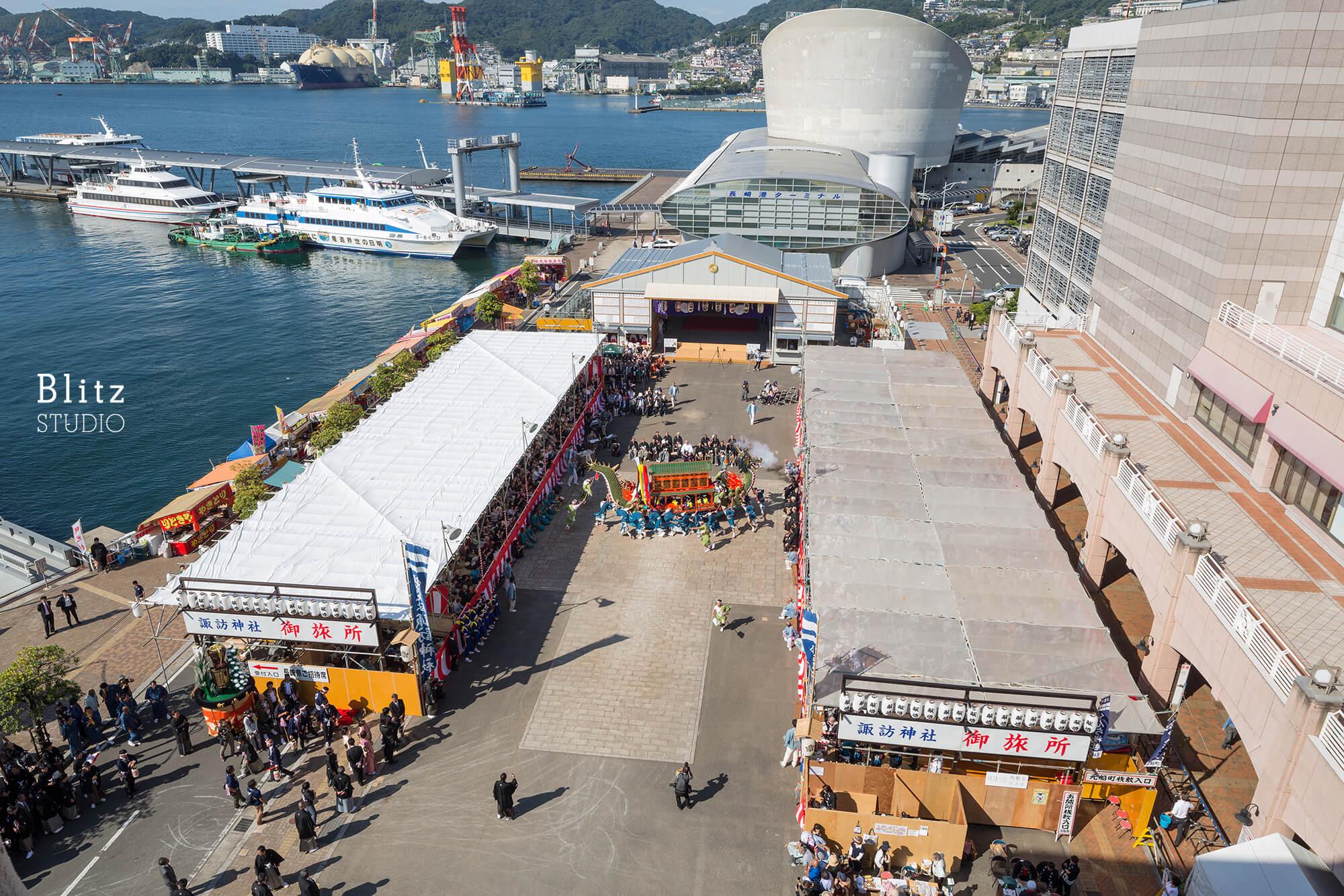『諏訪神社 お旅所』-長崎県長崎市-建築写真・竣工写真・インテリア写真1