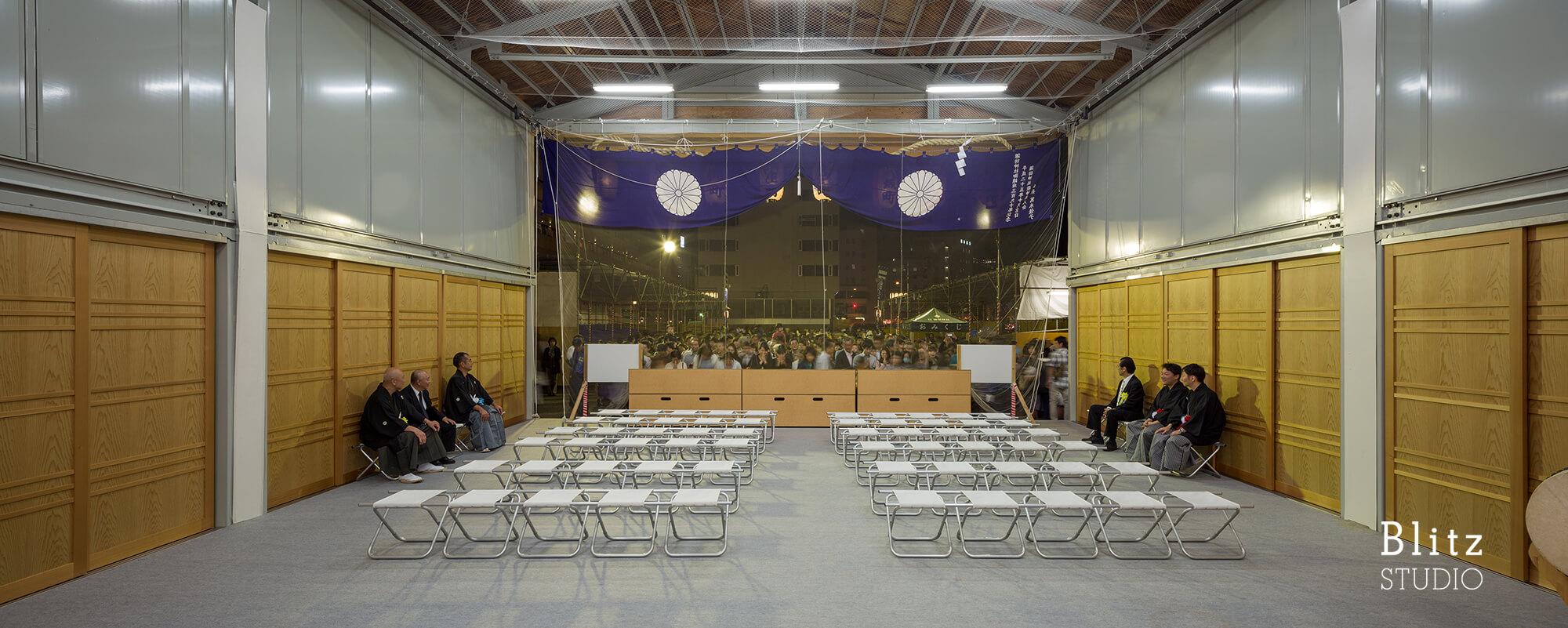 『諏訪神社 お旅所』建築写真・竣工写真・インテリア写真10
