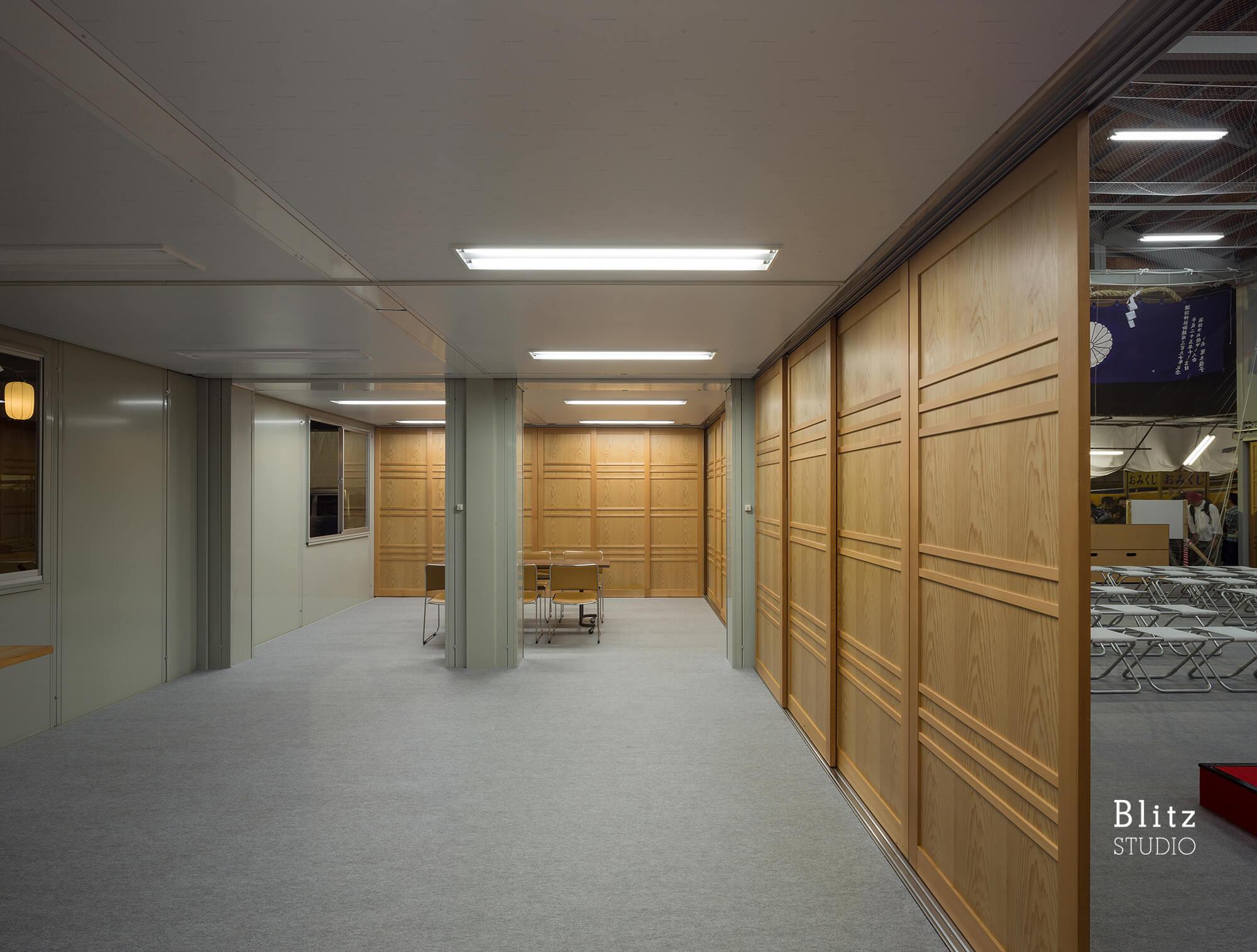 『諏訪神社 お旅所』建築写真・竣工写真・インテリア写真11