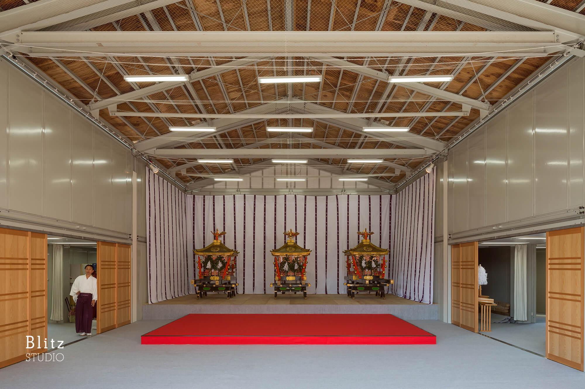 『諏訪神社 お旅所』建築写真・竣工写真・インテリア写真19