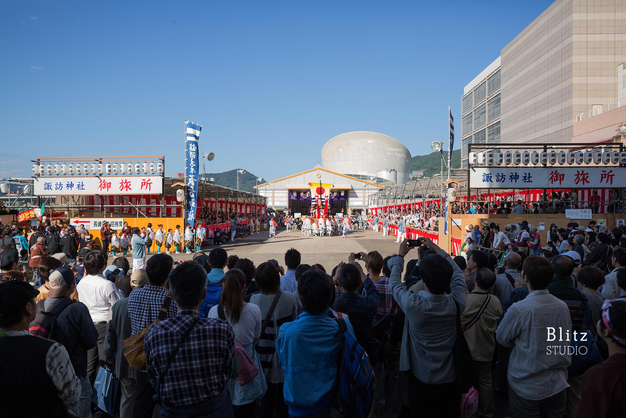 『諏訪神社 お旅所』-長崎県長崎市-建築写真・竣工写真・インテリア写真2