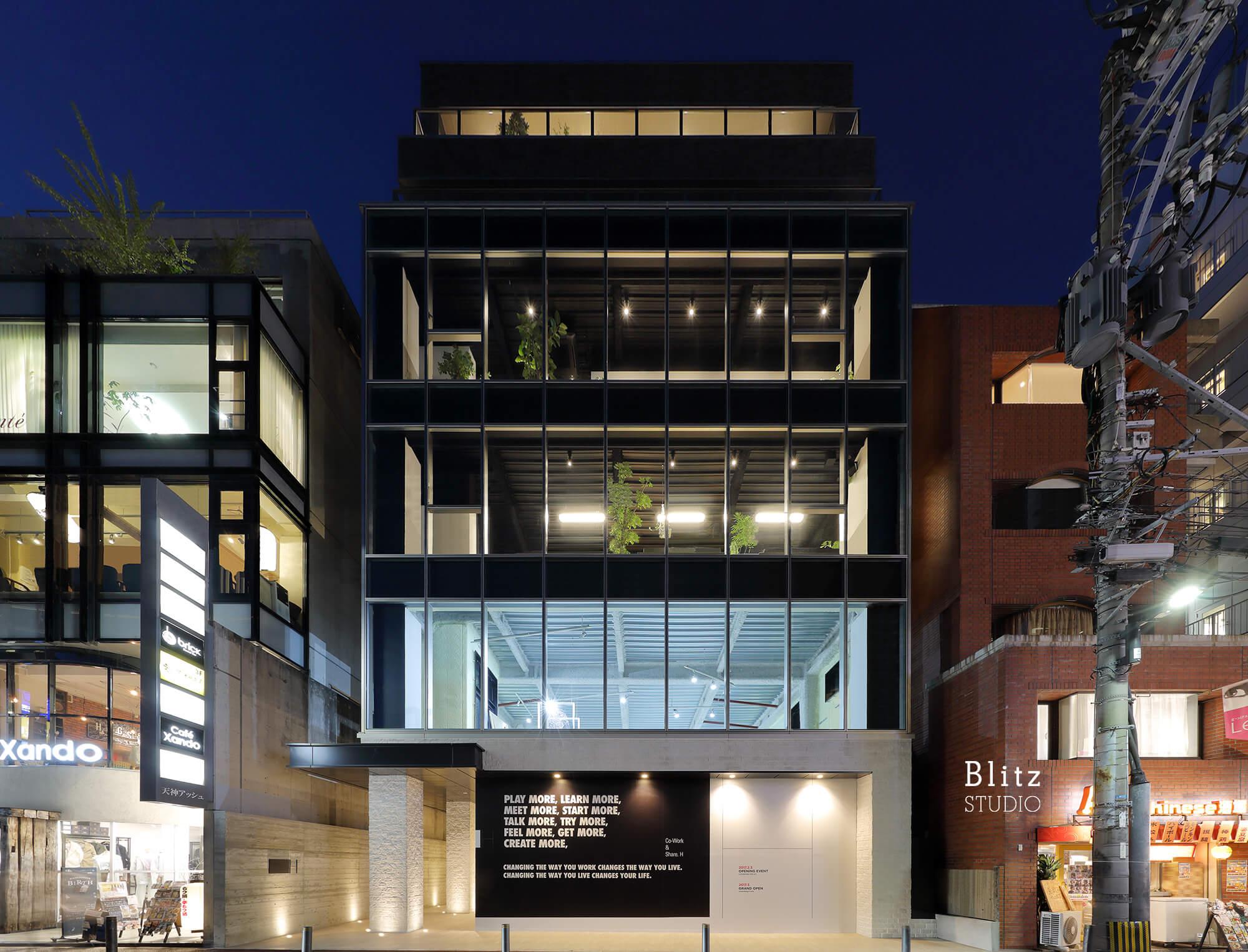『Co-Work&Share』-福岡県福岡市-建築写真・竣工写真・インテリア写真2