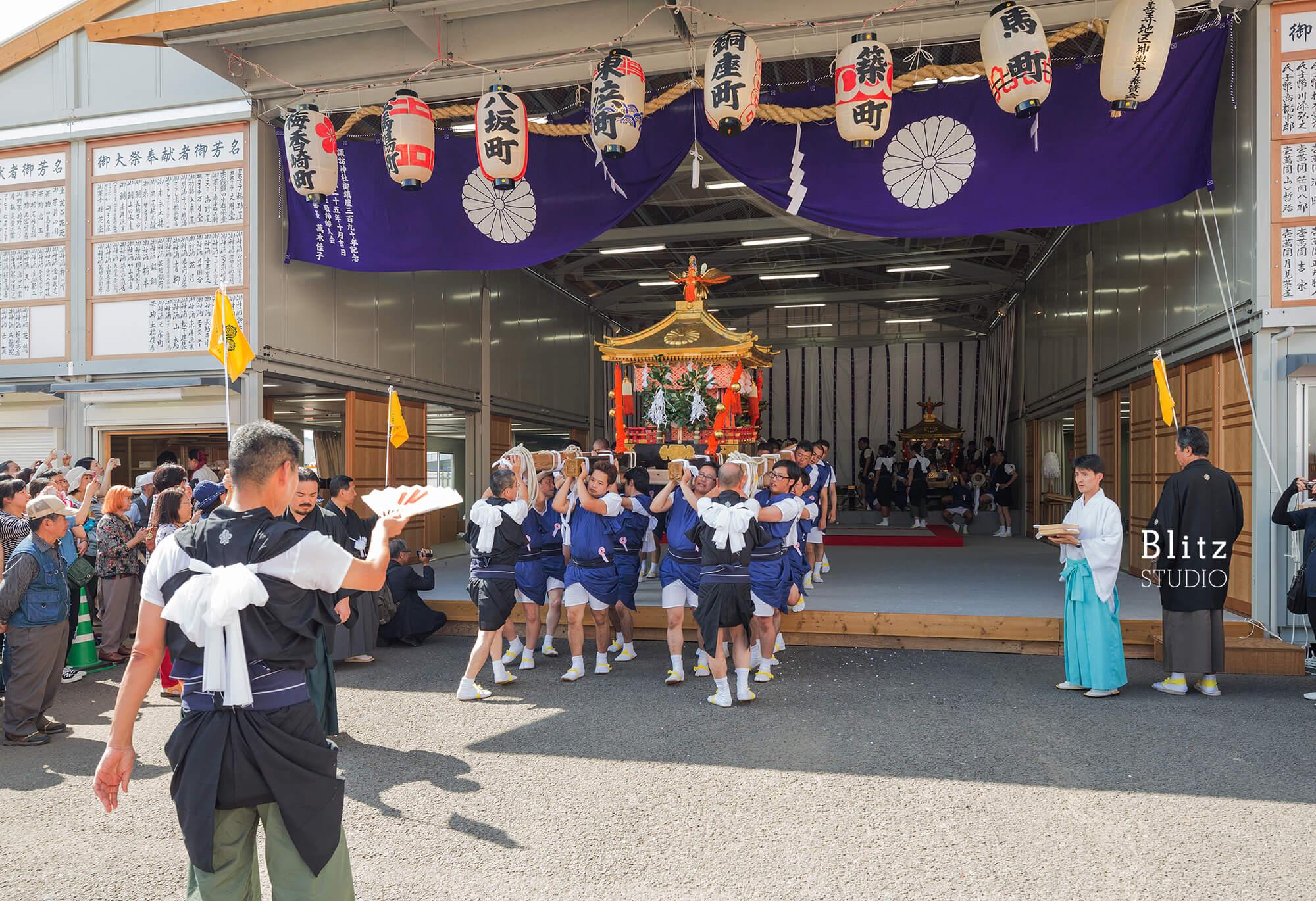 『諏訪神社 お旅所』建築写真・竣工写真・インテリア写真21
