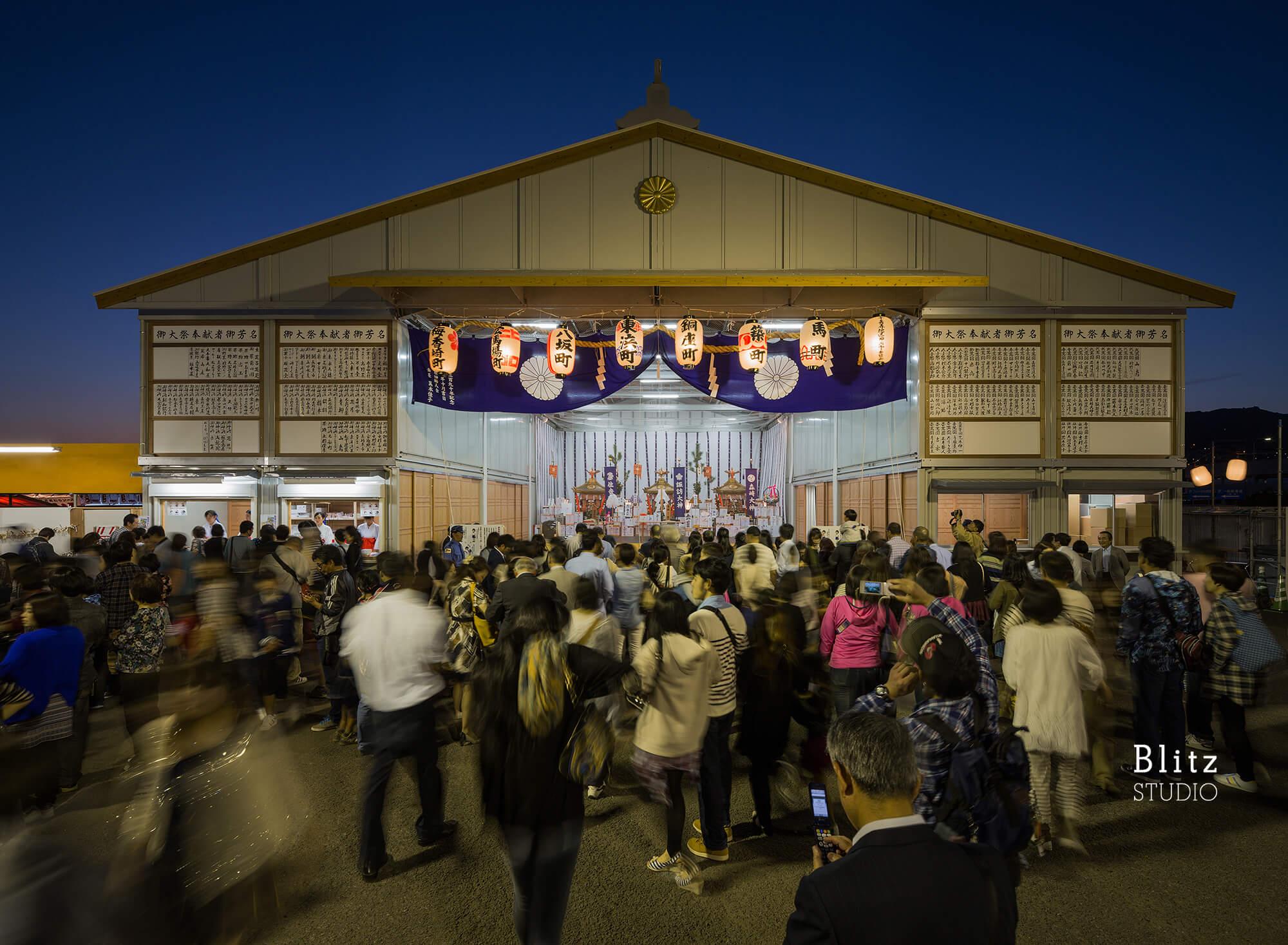 『諏訪神社 お旅所』建築写真・竣工写真・インテリア写真6