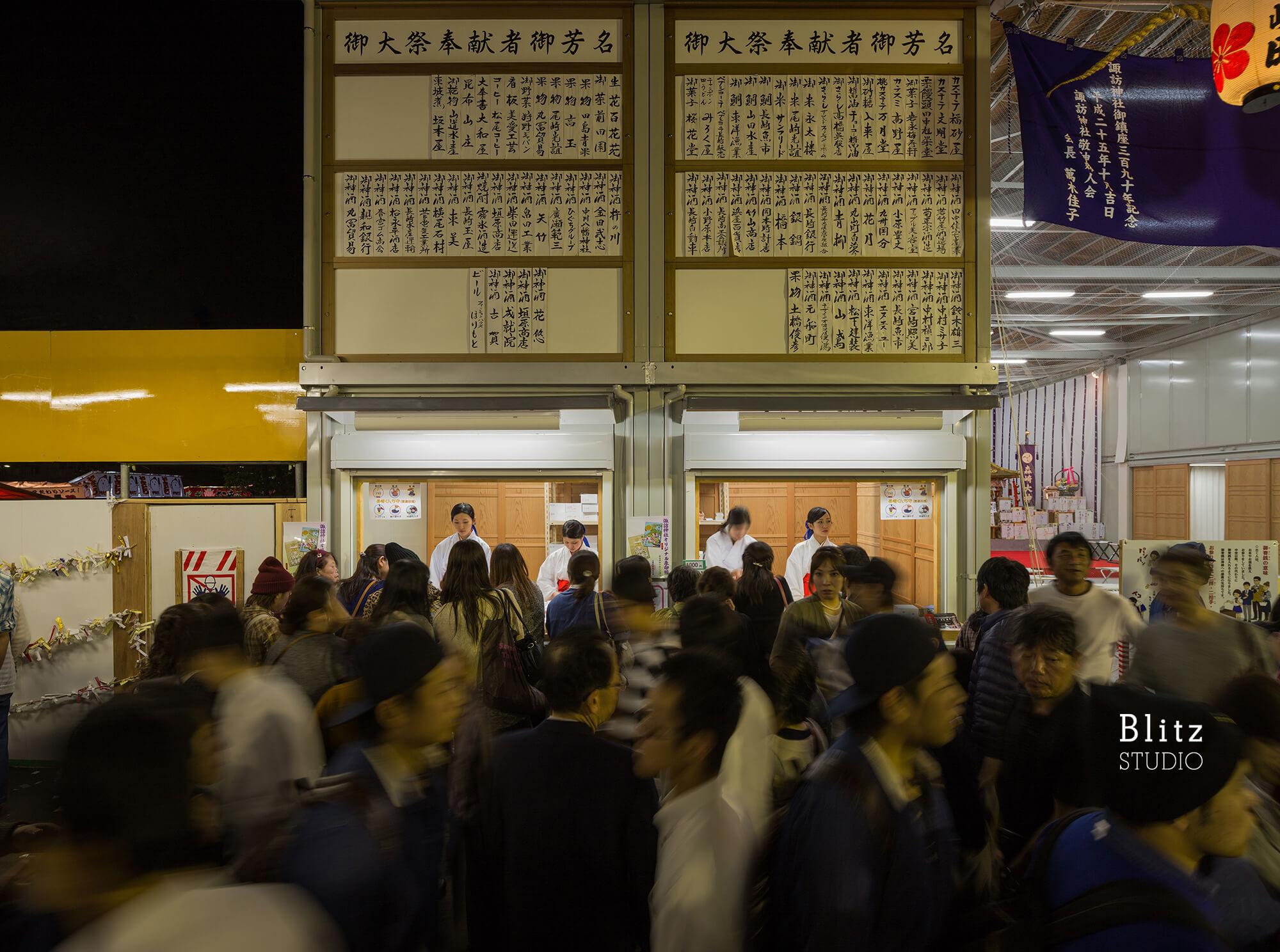 『諏訪神社 お旅所』建築写真・竣工写真・インテリア写真8