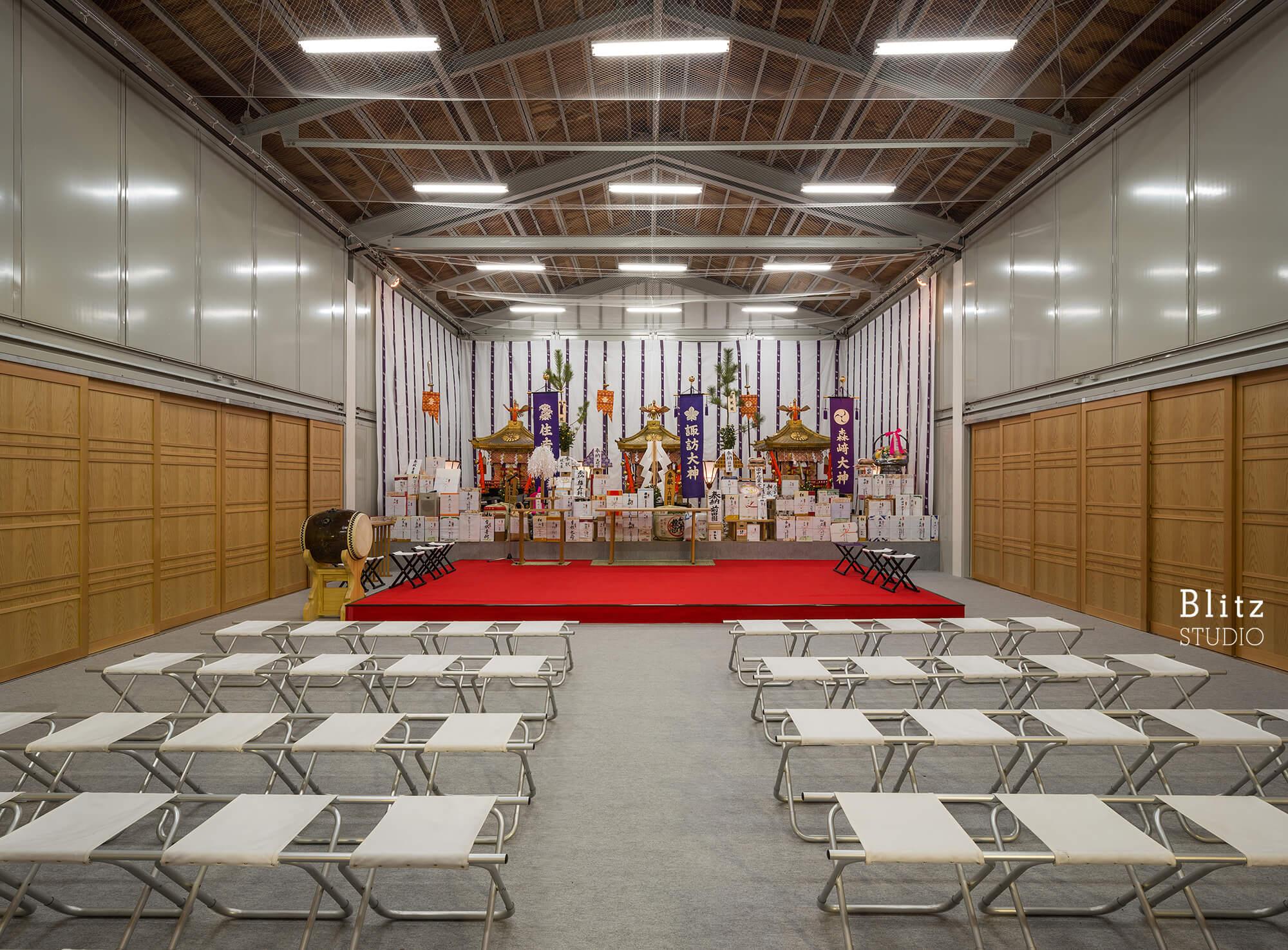 『諏訪神社 お旅所』建築写真・竣工写真・インテリア写真9