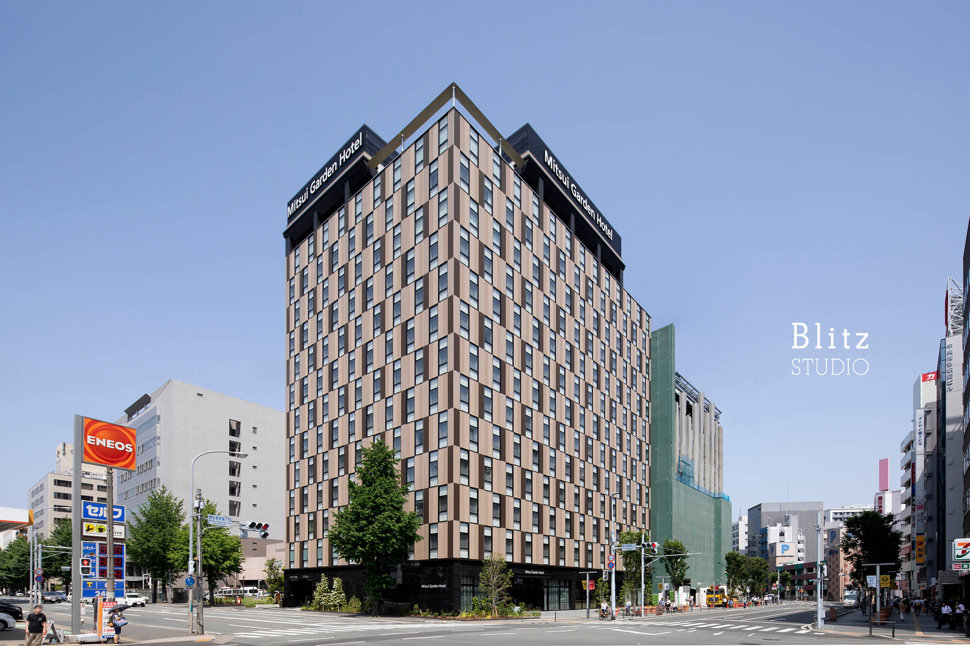 『三井ガーデンホテル福岡祇園』-福岡県福岡市-建築写真・竣工写真・インテリア写真2