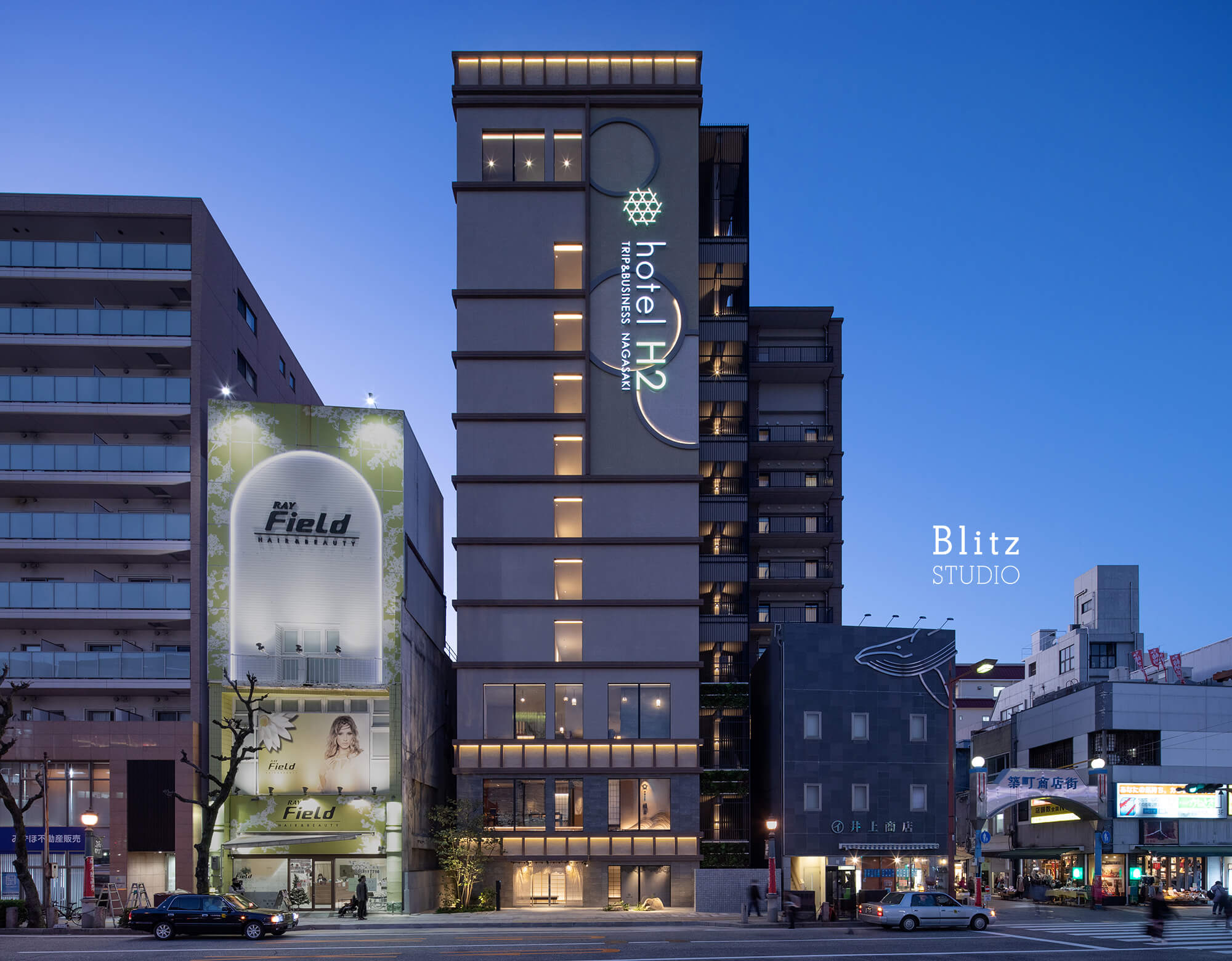 『hotel H2 Trip & Business Nagasaki』-長崎県長崎市-建築写真・竣工写真・インテリア写真4