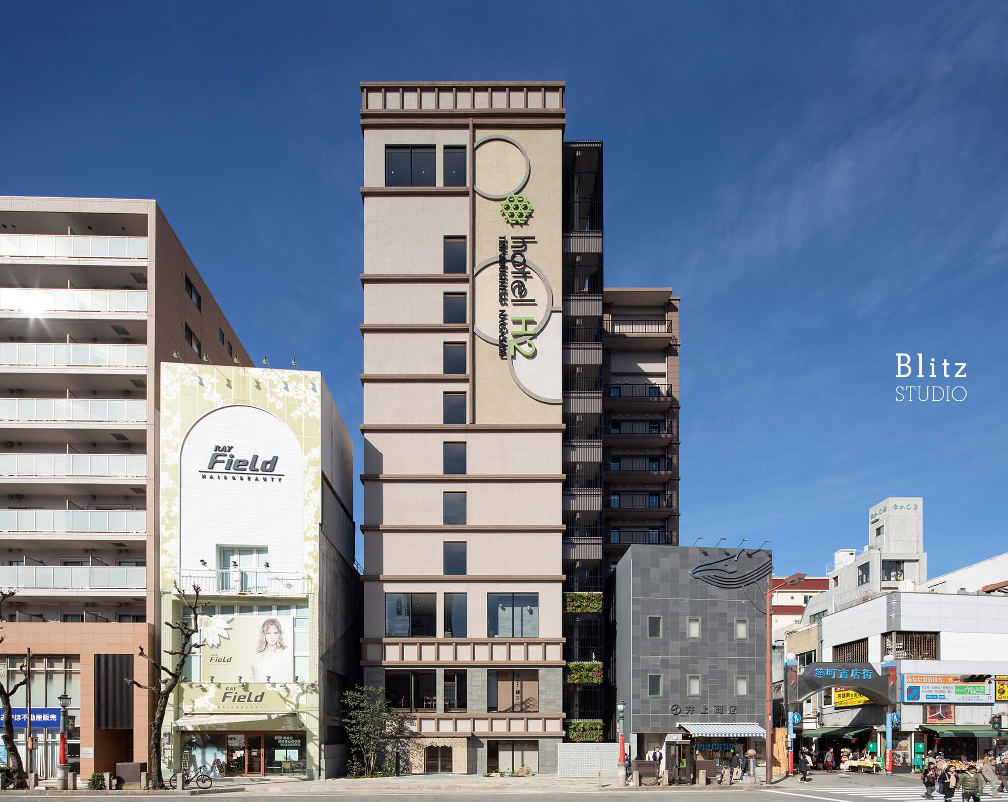 『hotel H2 Trip & Business Nagasaki』-長崎県長崎市-建築写真・竣工写真・インテリア写真2