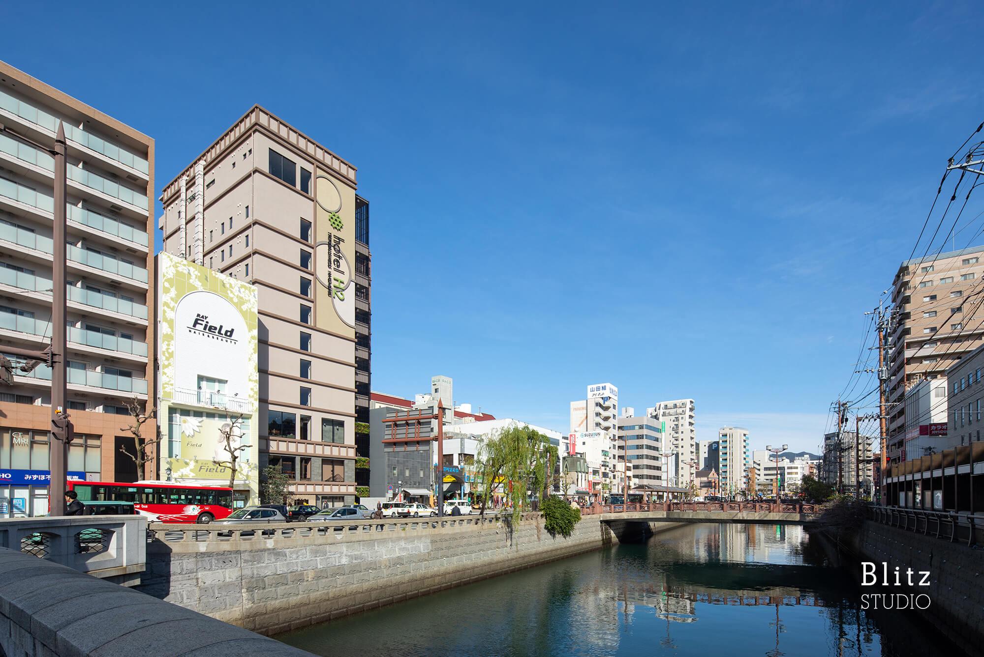 『hotel H2 Trip & Business Nagasaki』-長崎県長崎市-建築写真・竣工写真・インテリア写真1