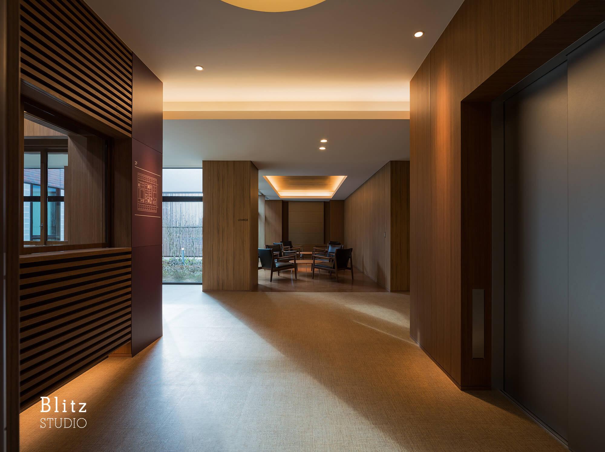 『桜ヶ丘病院』建築写真・竣工写真・インテリア写真9
