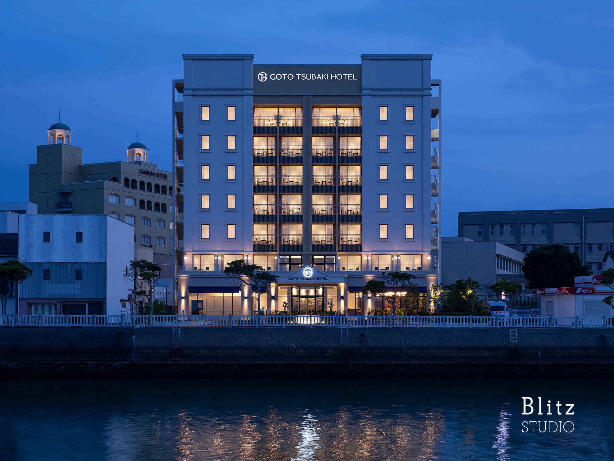 『GOTO TSUBAKI HOTEL』-長崎県五島市-建築写真・竣工写真・インテリア写真3