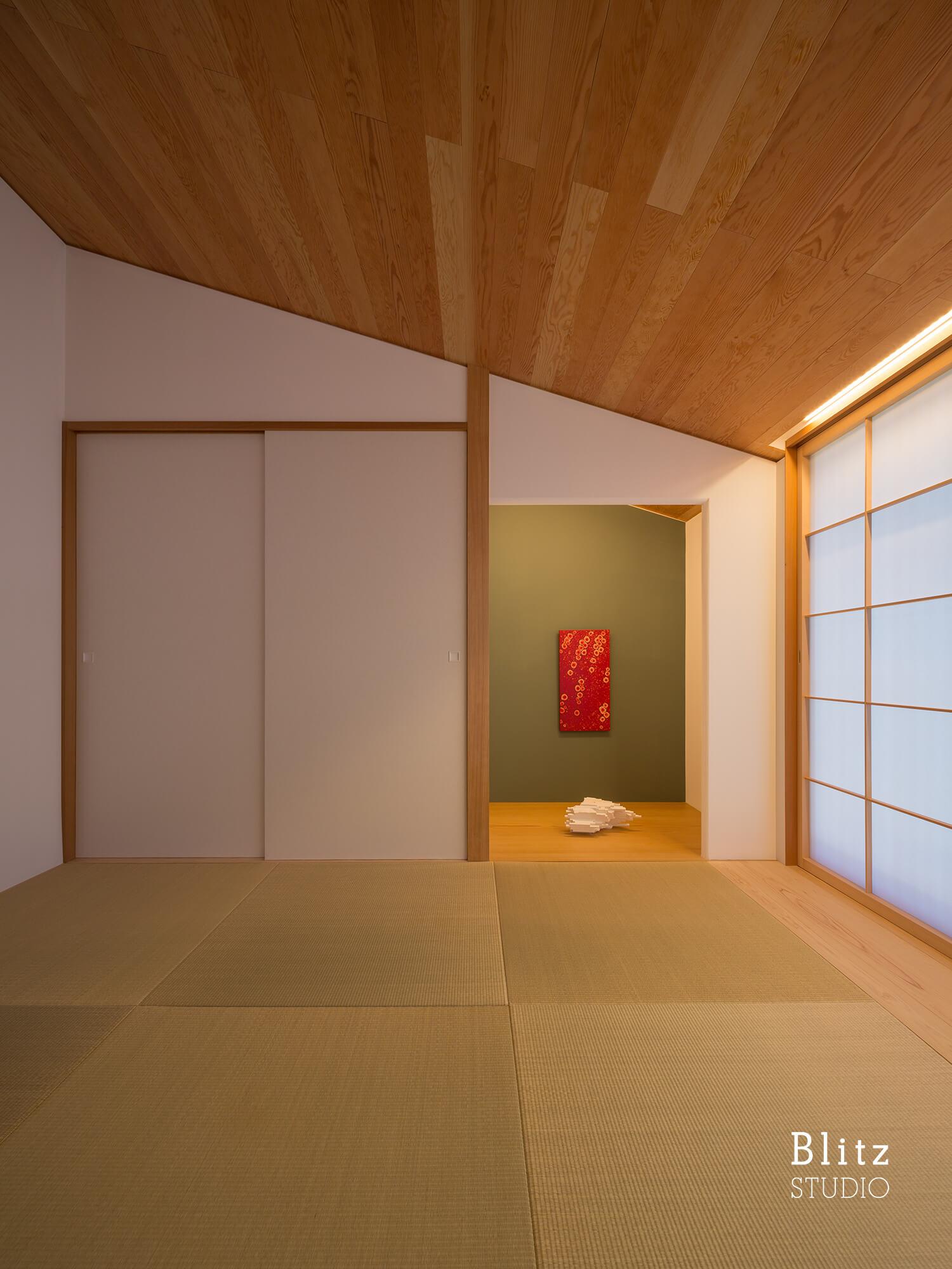 『観世音寺の家』建築写真・竣工写真・インテリア写真10