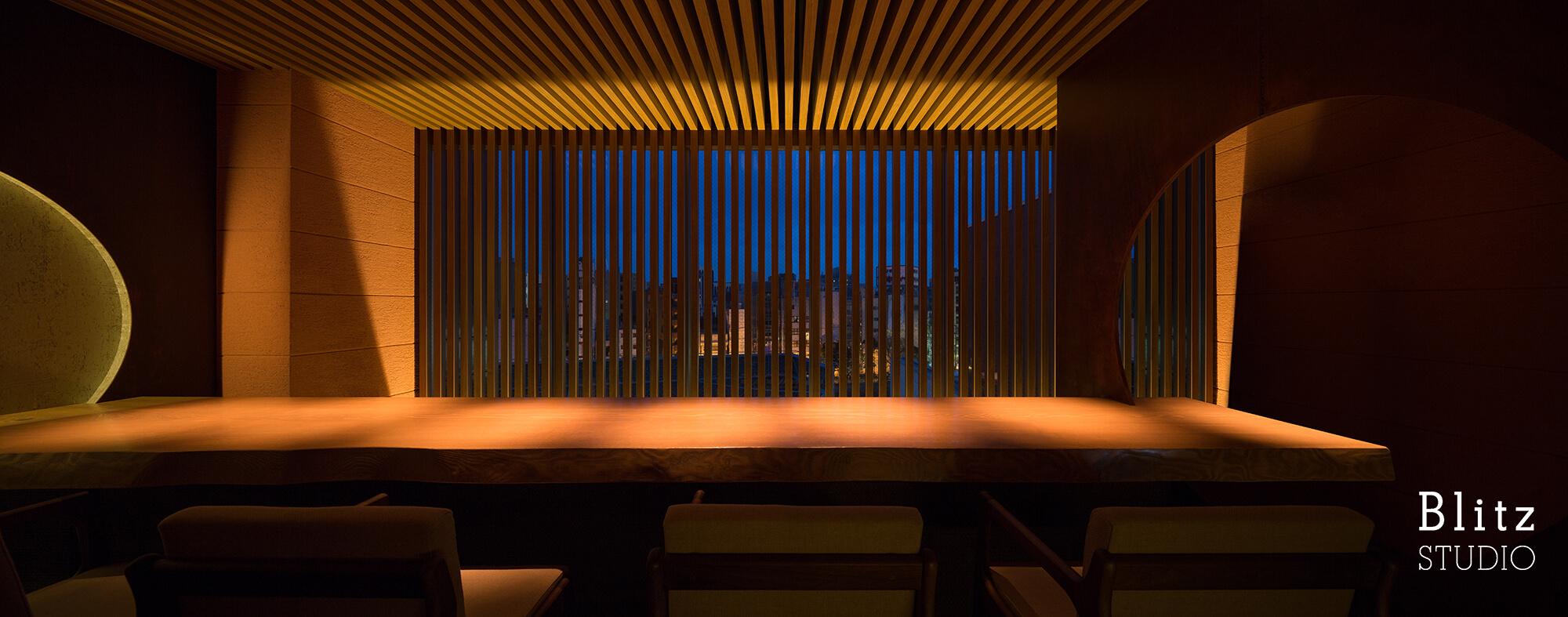 『ダイニングレストラン つきみち』建築写真・竣工写真・インテリア写真10