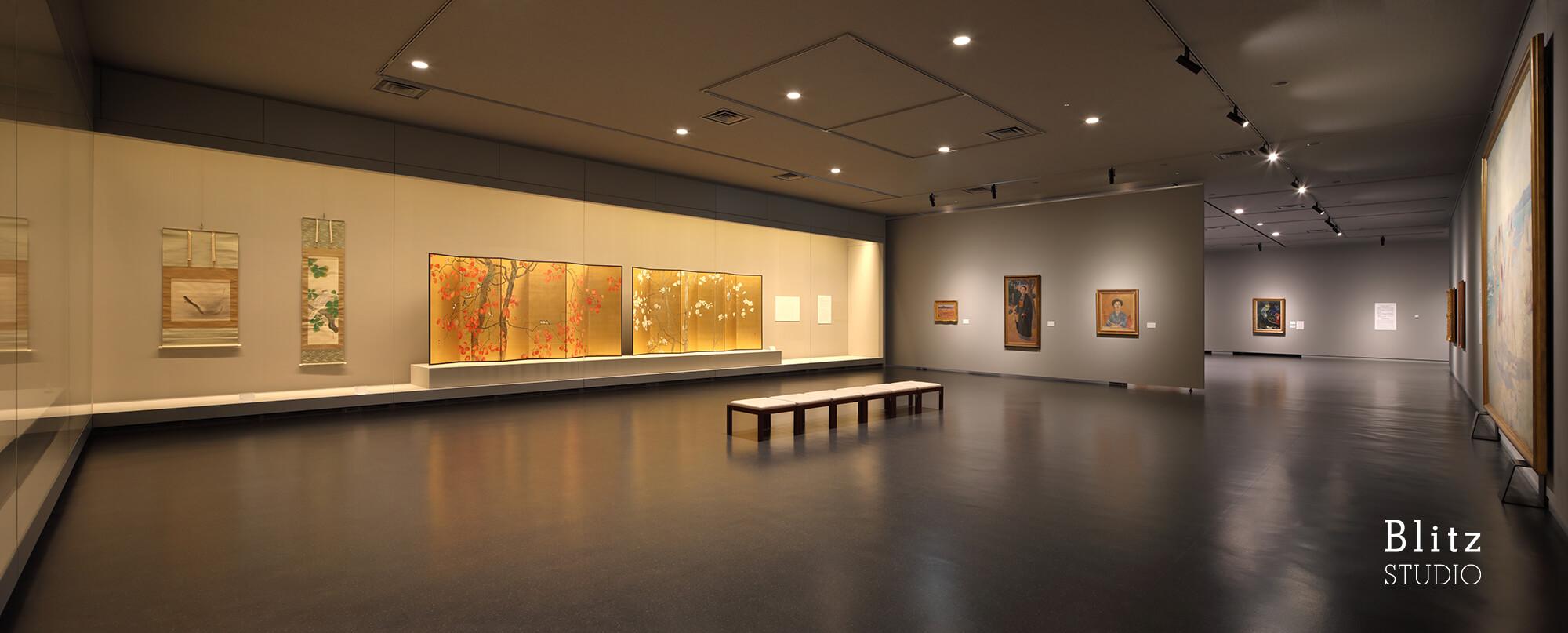 『福岡市美術館リニューアル』建築写真・竣工写真・インテリア写真10