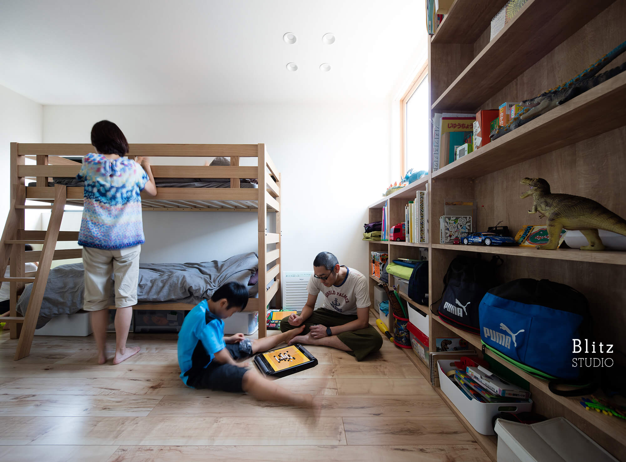 『神楽坂の家』建築写真・竣工写真・インテリア写真11