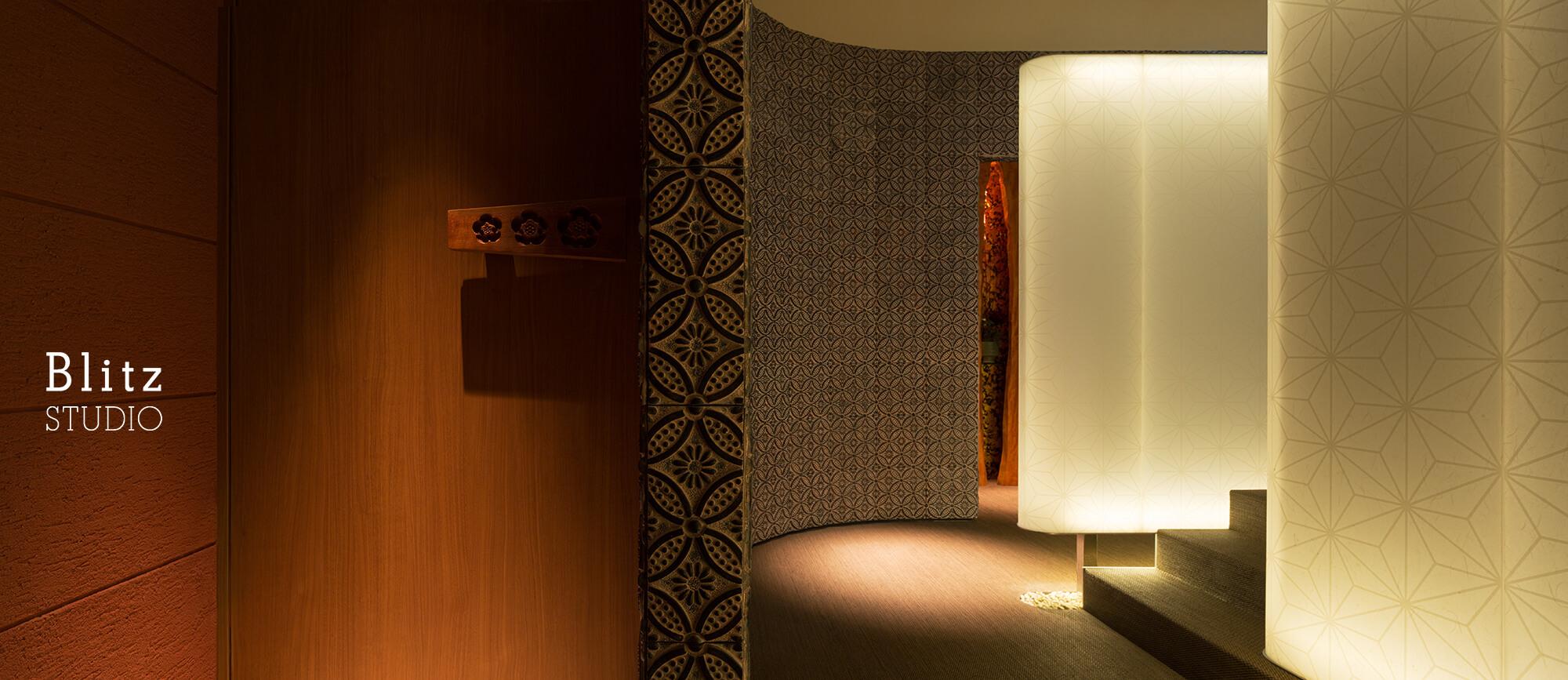 『ダイニングレストラン つきみち』建築写真・竣工写真・インテリア写真11