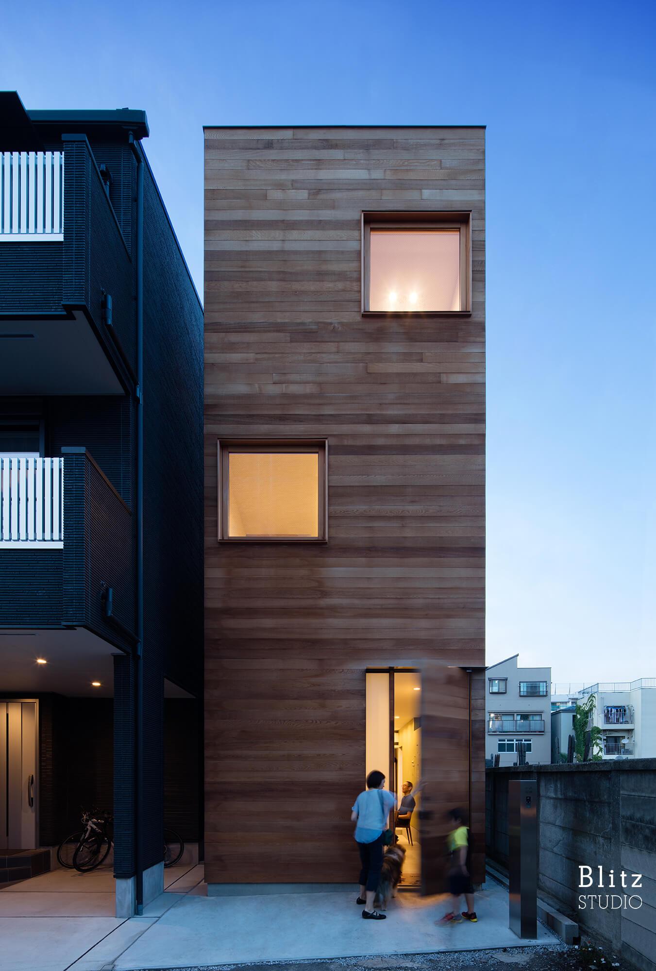 『神楽坂の家』建築写真・竣工写真・インテリア写真12