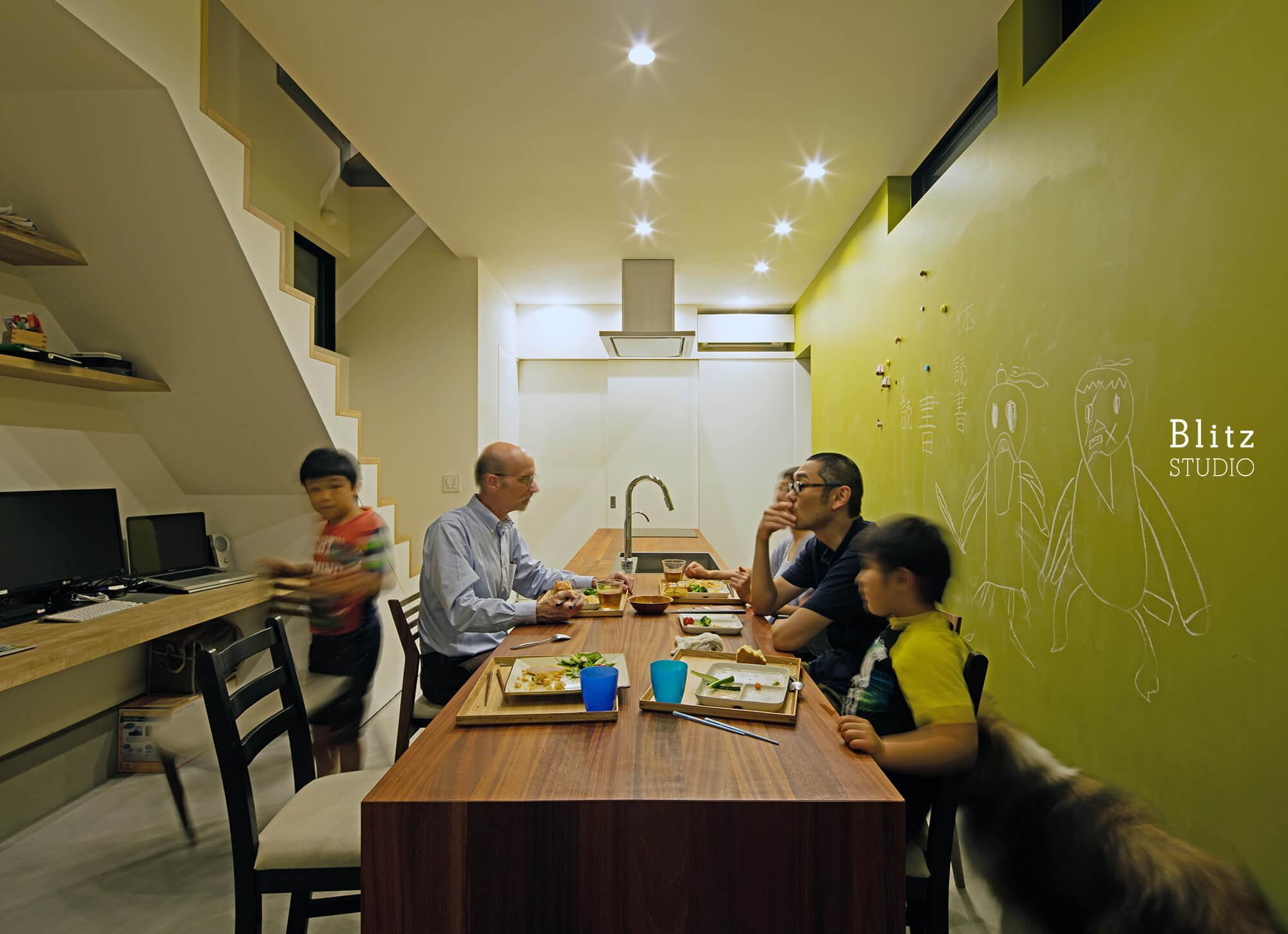 『神楽坂の家』建築写真・竣工写真・インテリア写真13