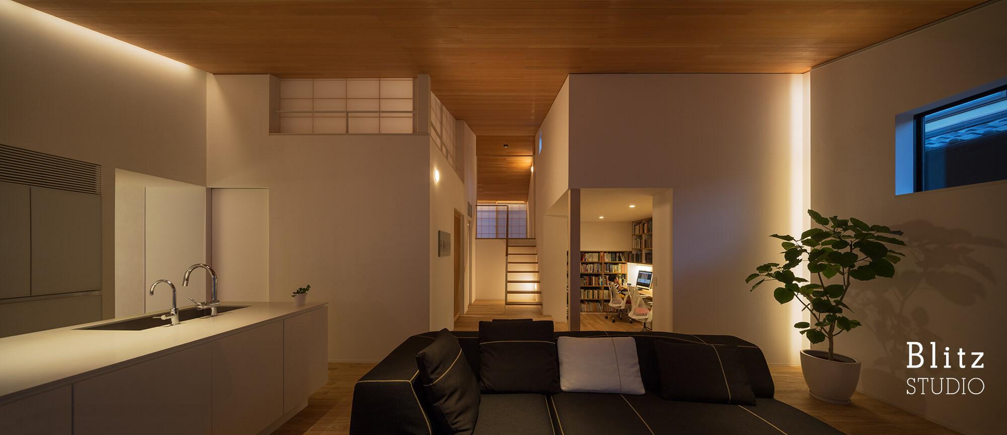 『観世音寺の家』建築写真・竣工写真・インテリア写真18