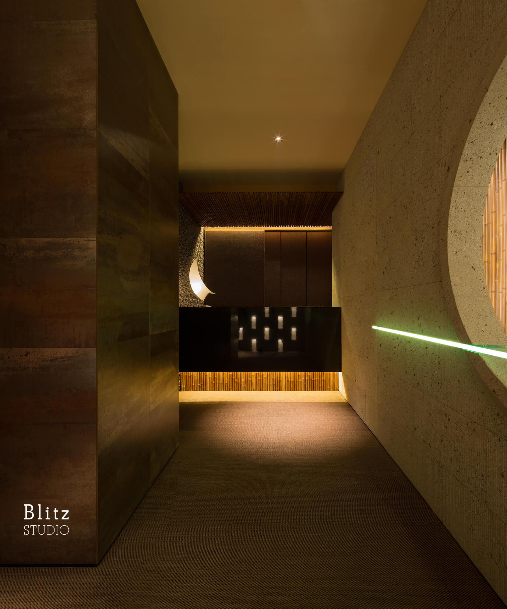 『ダイニングレストラン つきみち』-福岡県福岡市-建築写真・竣工写真・インテリア写真3
