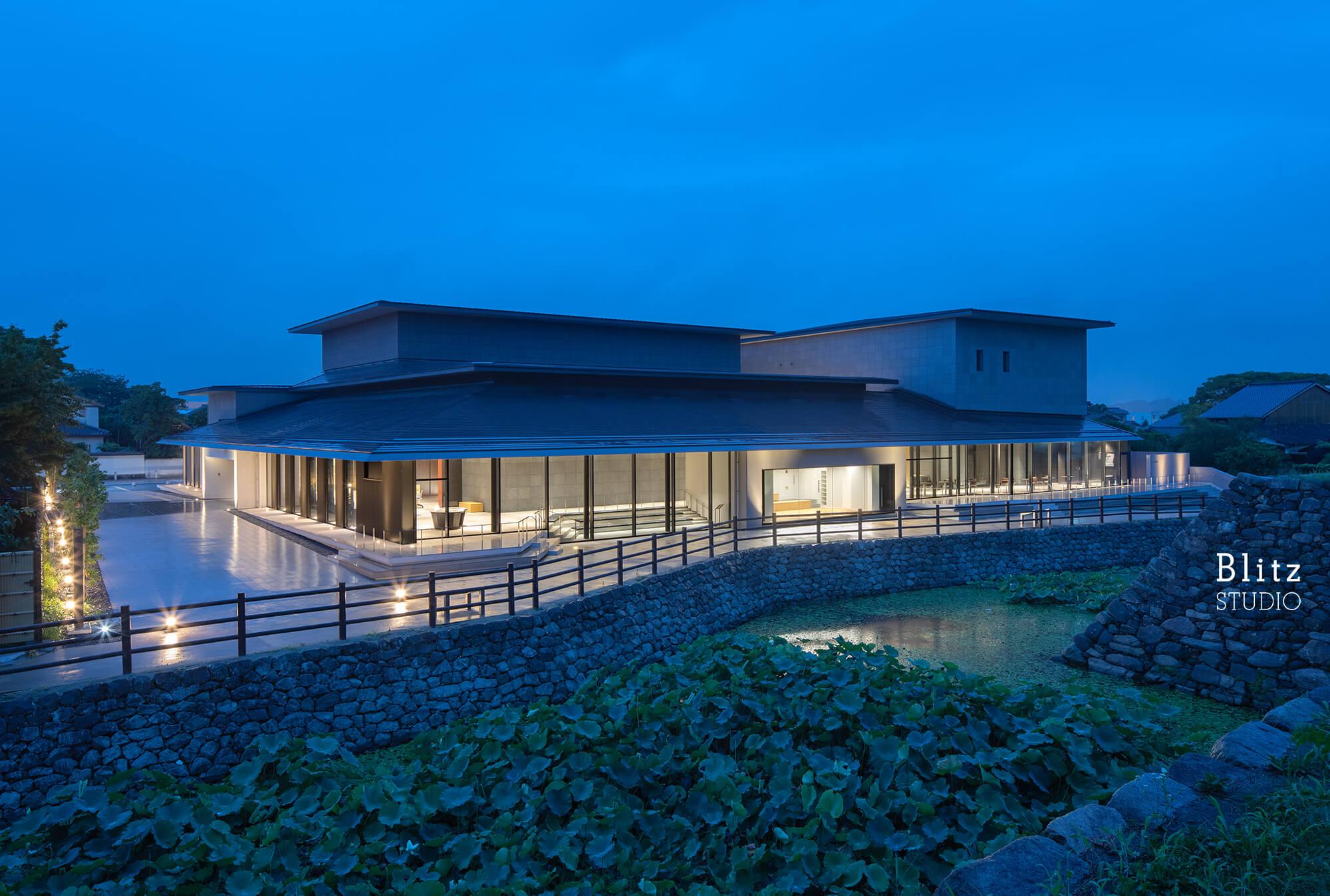 『中津市歴史博物館』-大分県中津市-建築写真・竣工写真・インテリア写真3