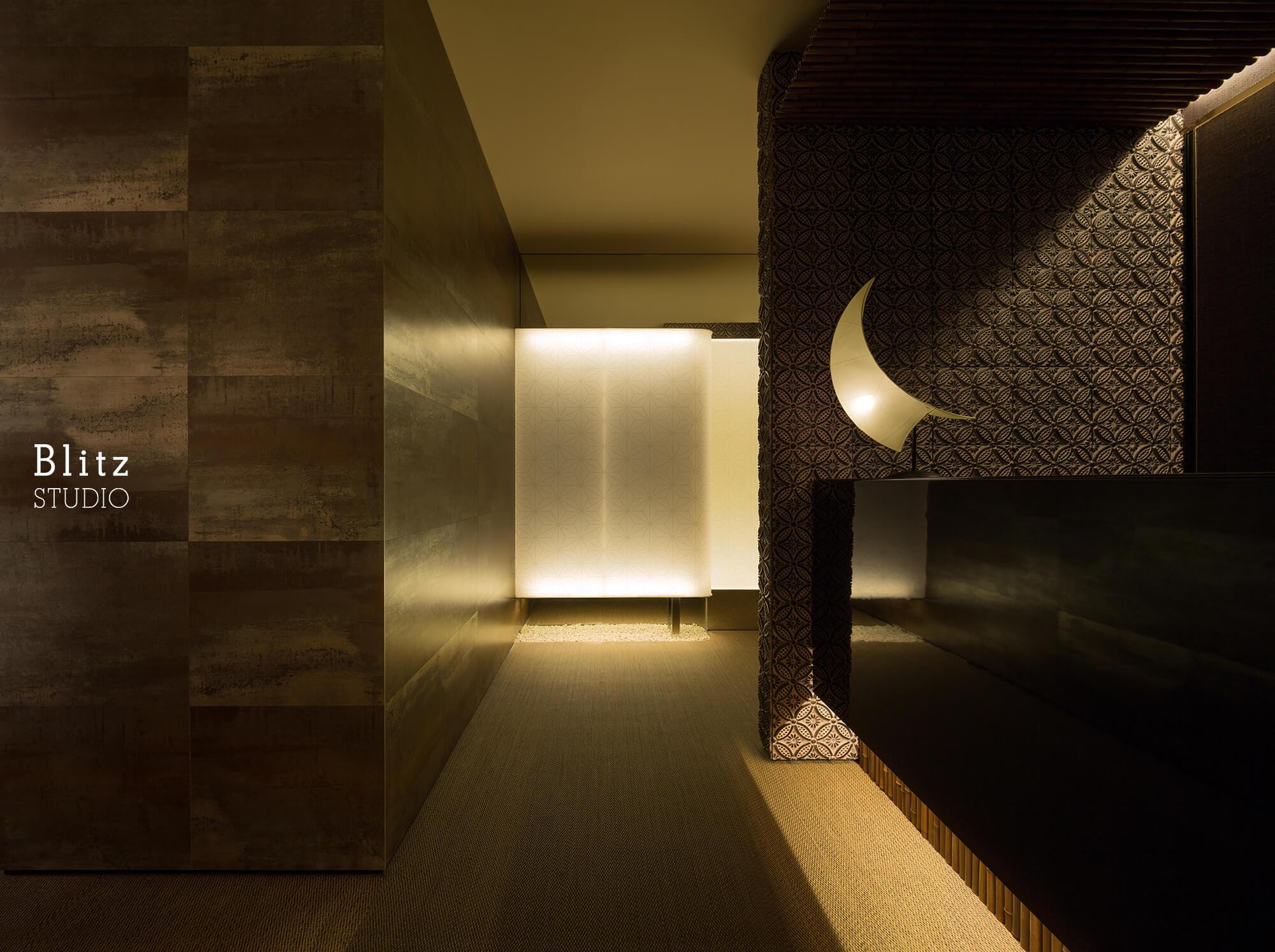 『ダイニングレストラン つきみち』-福岡県福岡市-建築写真・竣工写真・インテリア写真4
