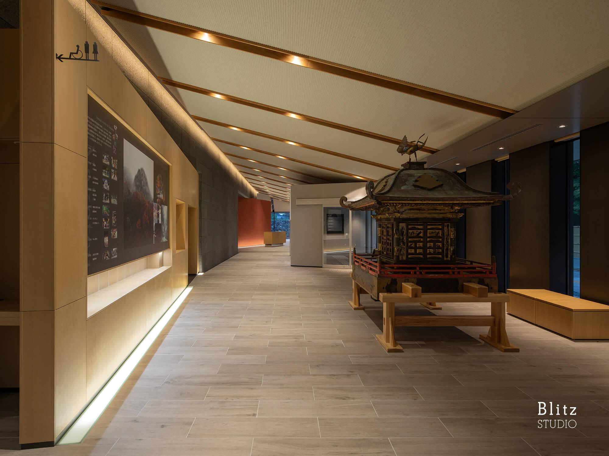 『中津市歴史博物館』-大分県中津市-建築写真・竣工写真・インテリア写真4