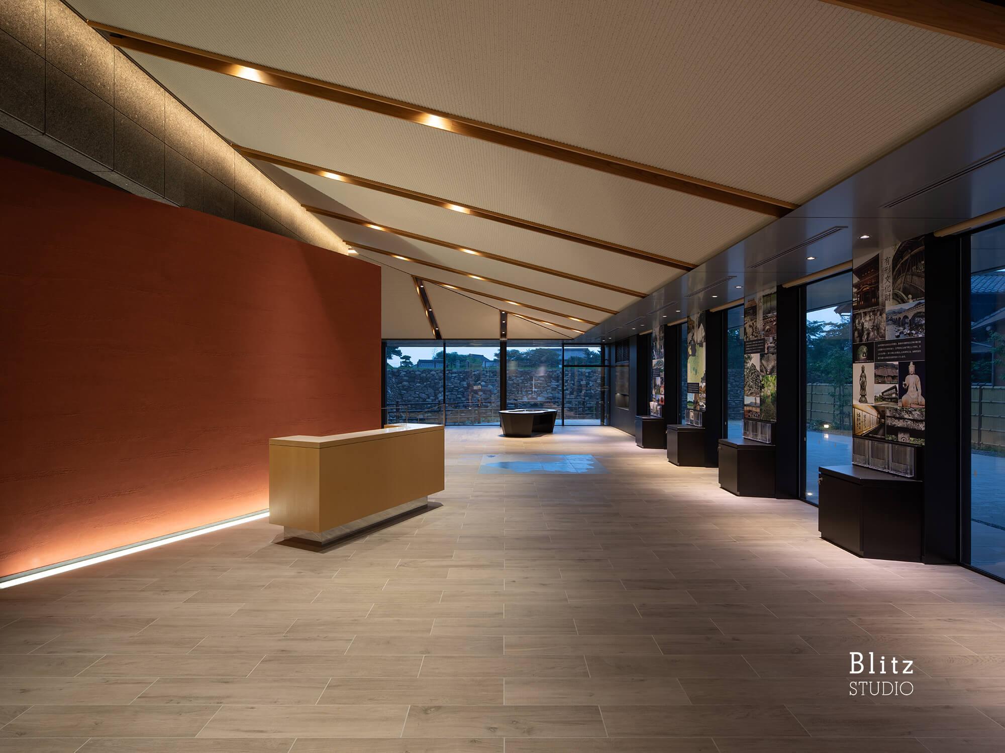 『中津市歴史博物館』-大分県中津市-建築写真・竣工写真・インテリア写真5