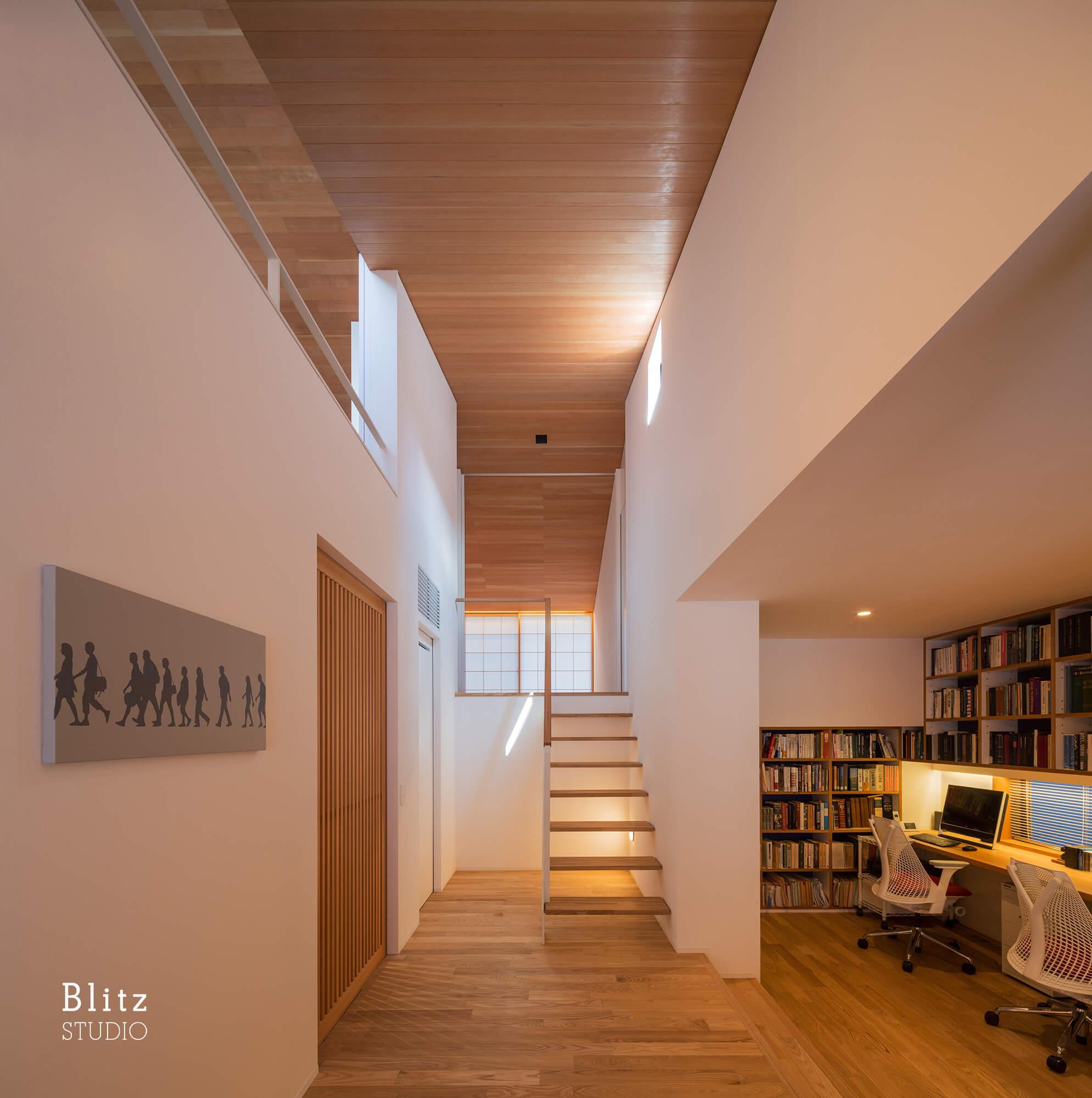 『観世音寺の家』建築写真・竣工写真・インテリア写真6