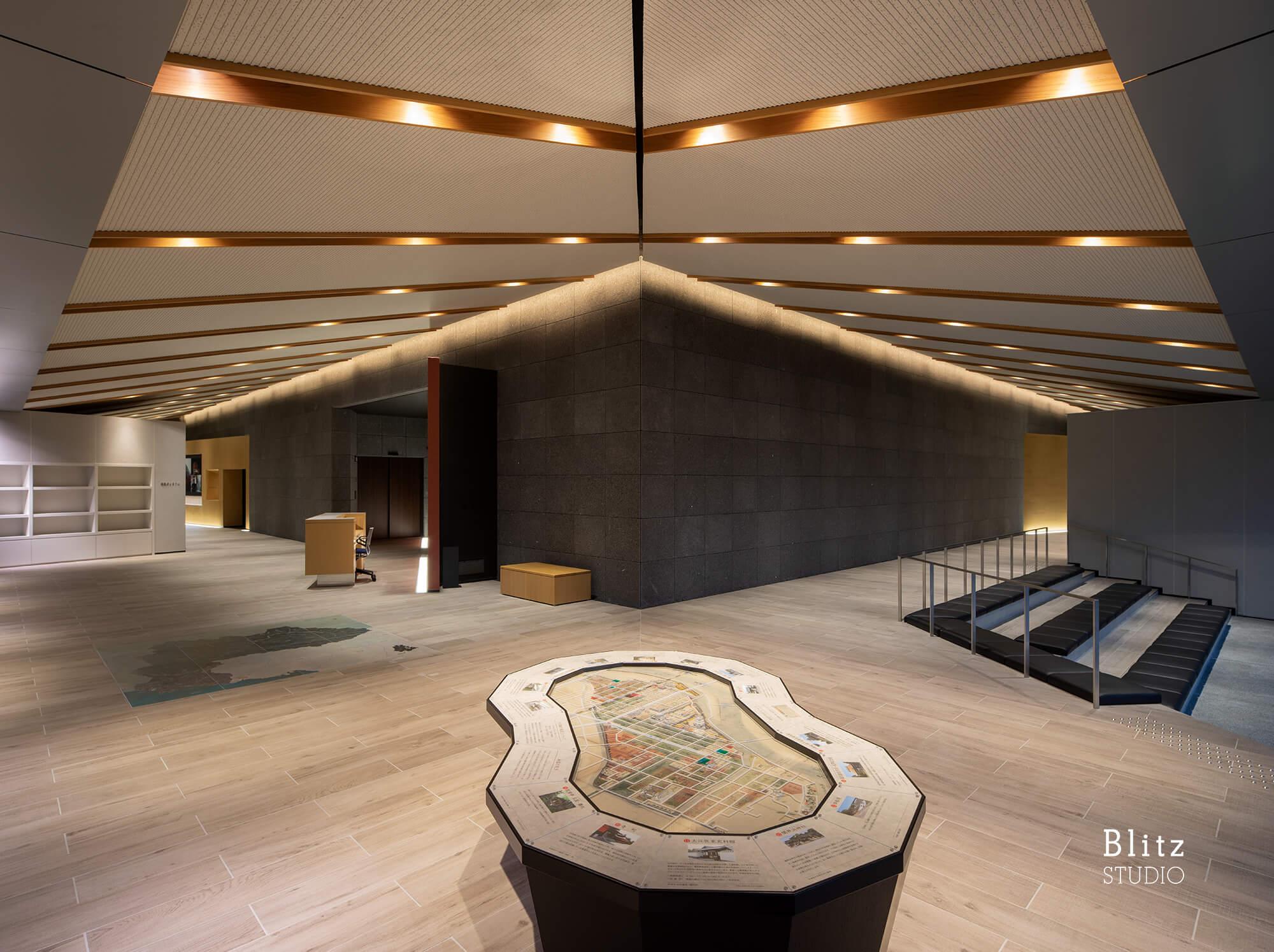 『中津市歴史博物館』建築写真・竣工写真・インテリア写真6