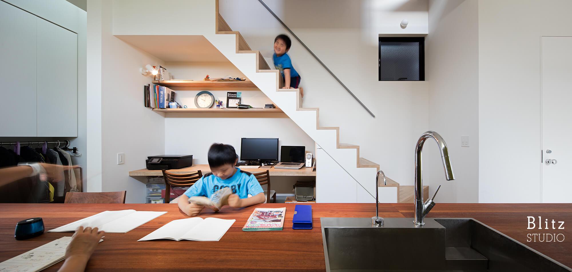『神楽坂の家』建築写真・竣工写真・インテリア写真7