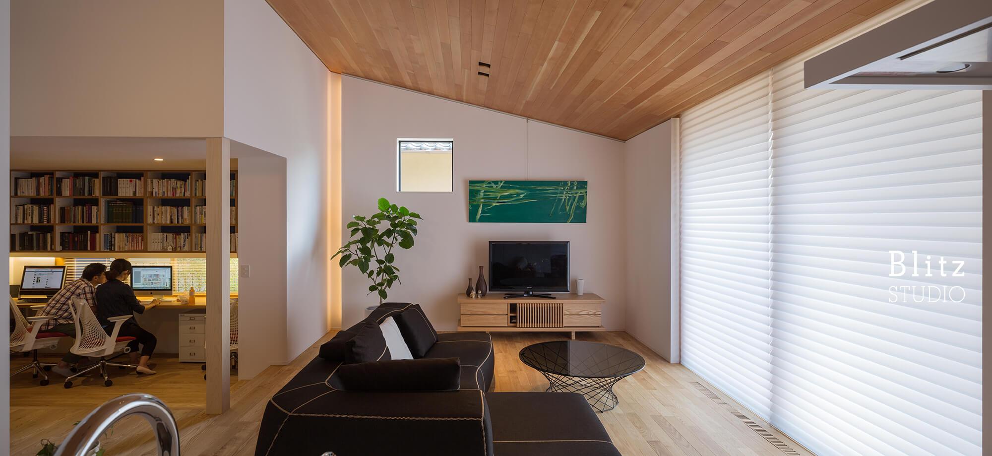 『観世音寺の家』建築写真・竣工写真・インテリア写真7